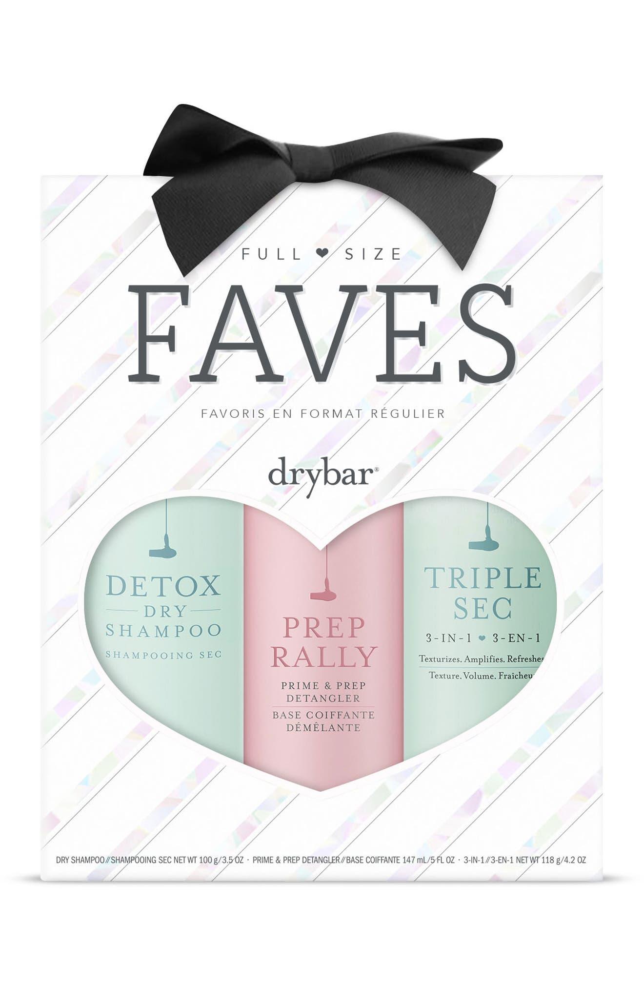 DRYBAR,                             Full-Size Faves Set,                             Alternate thumbnail 2, color,                             000