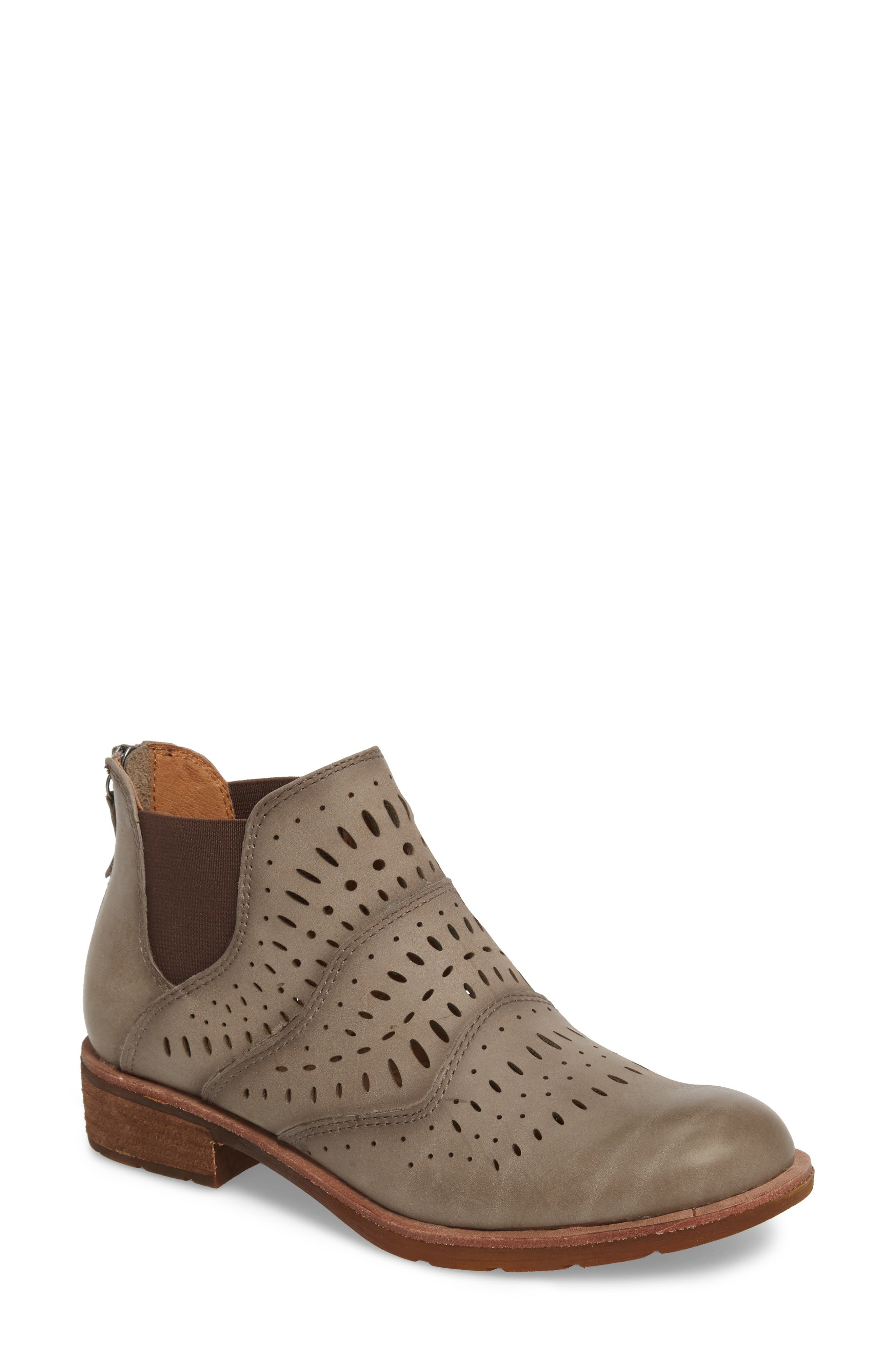 Brenley Bootie,                             Main thumbnail 1, color,                             PAPER MACHE GREY LEATHER
