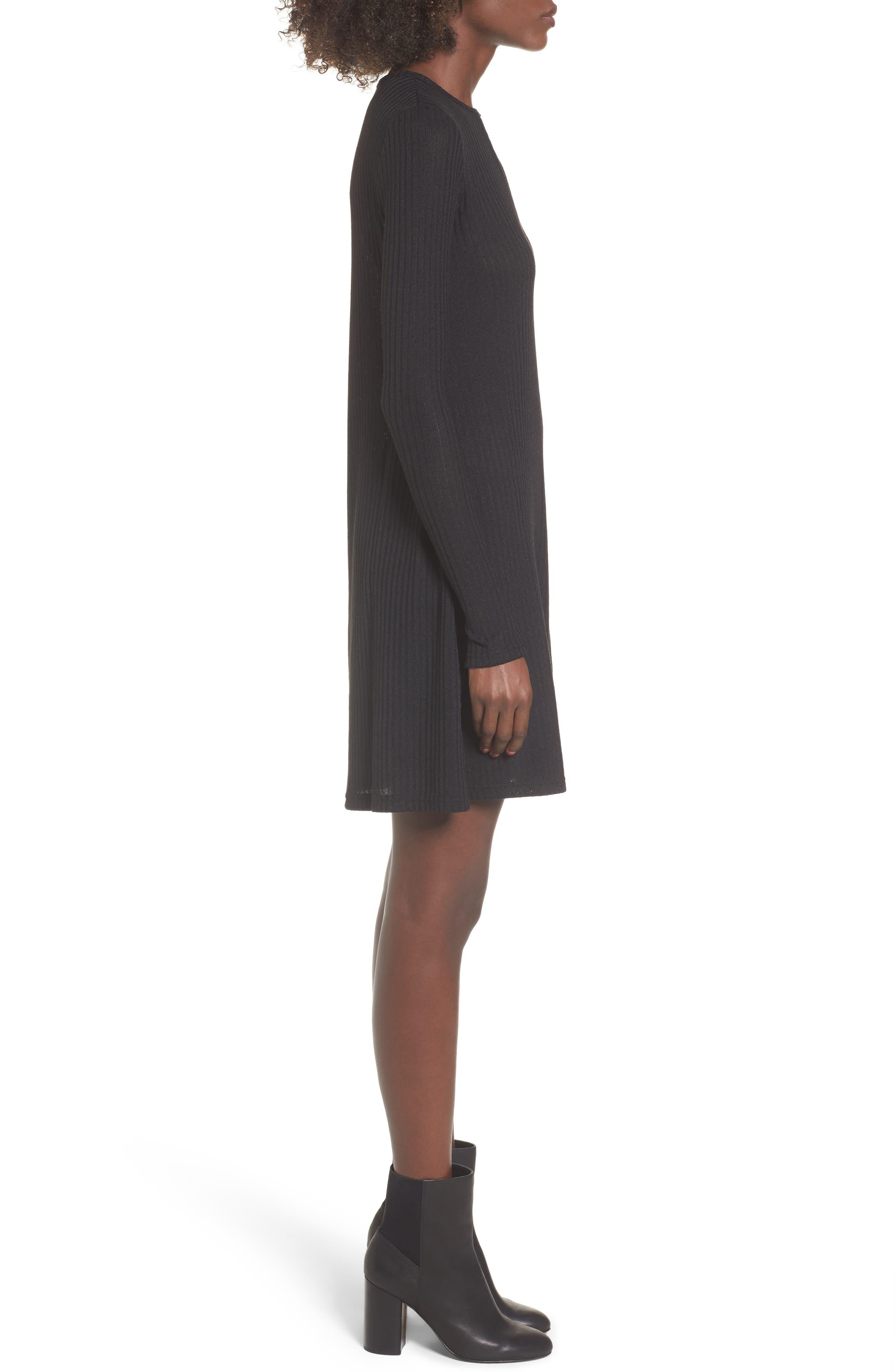 Maven Thermal Dress,                             Alternate thumbnail 3, color,                             001