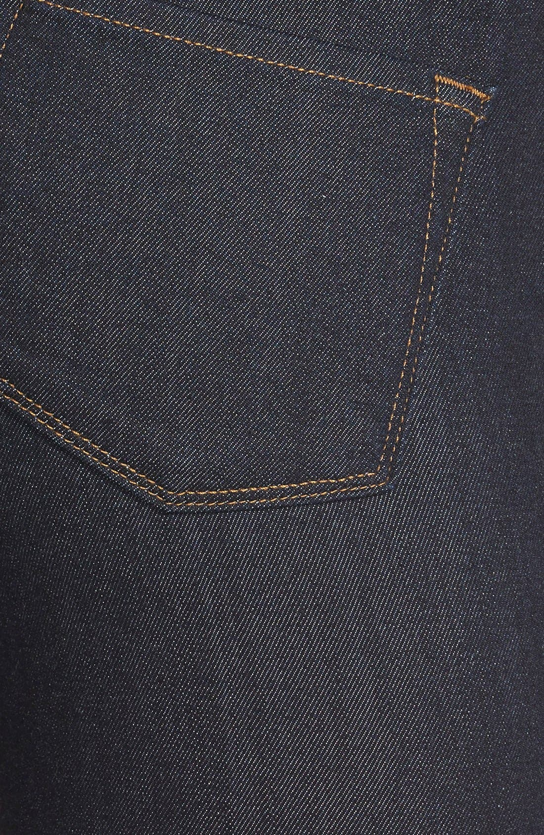 Maria High Waist Super Skinny Jeans,                             Alternate thumbnail 7, color,                             AFTER DARK