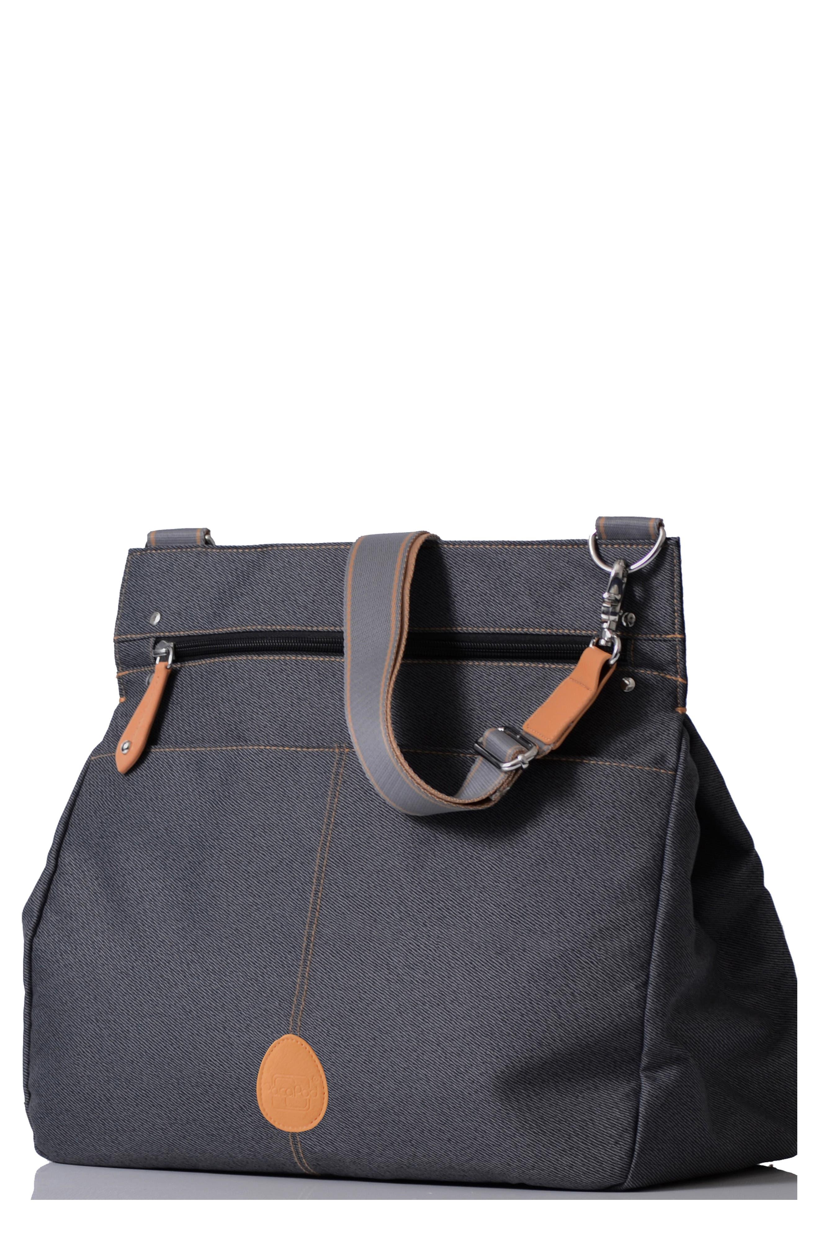 'Oban' Diaper Bag,                             Main thumbnail 1, color,                             BLACK CHARCOAL