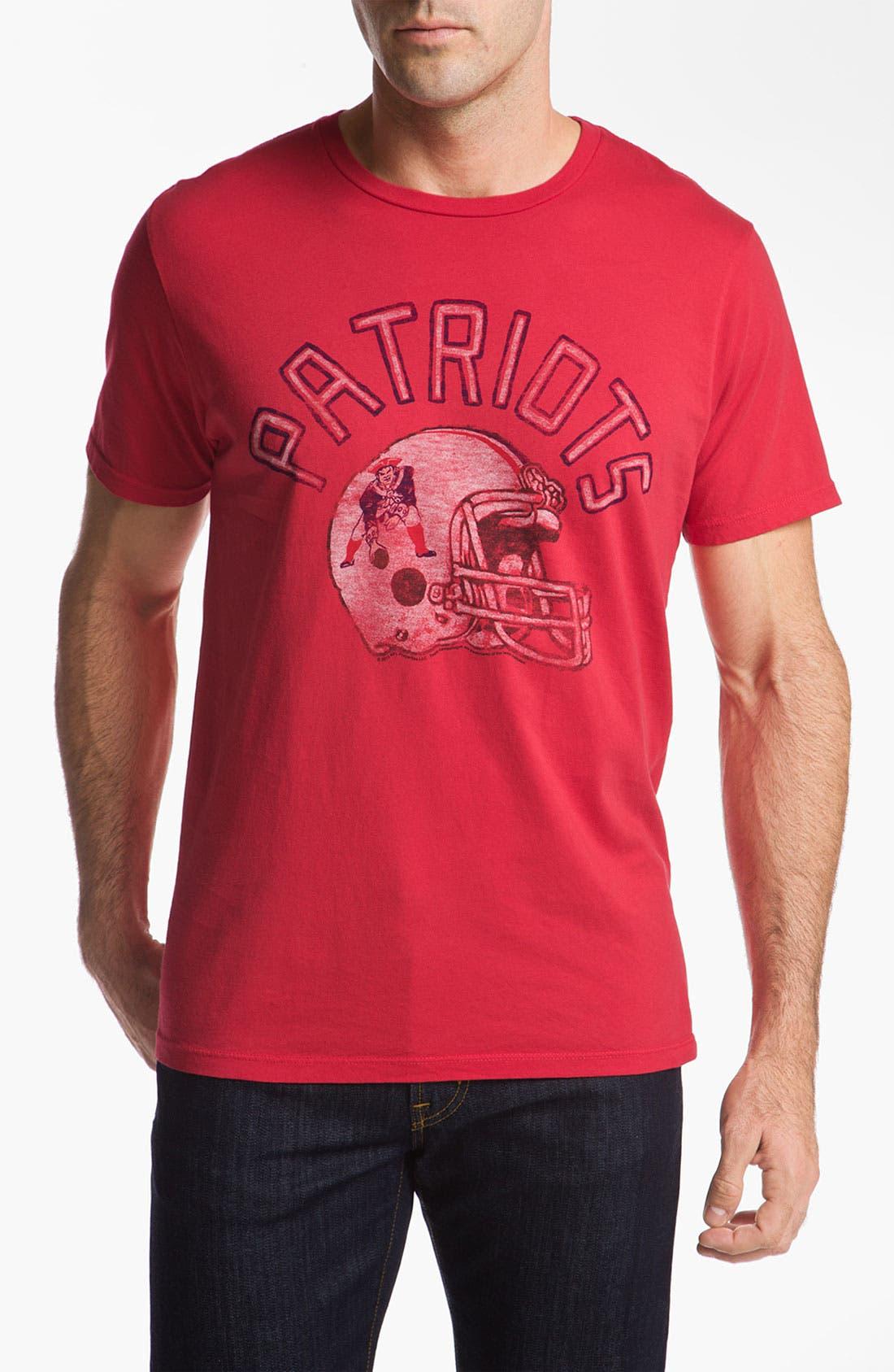 'New England Patriots' T-Shirt,                             Main thumbnail 1, color,                             621