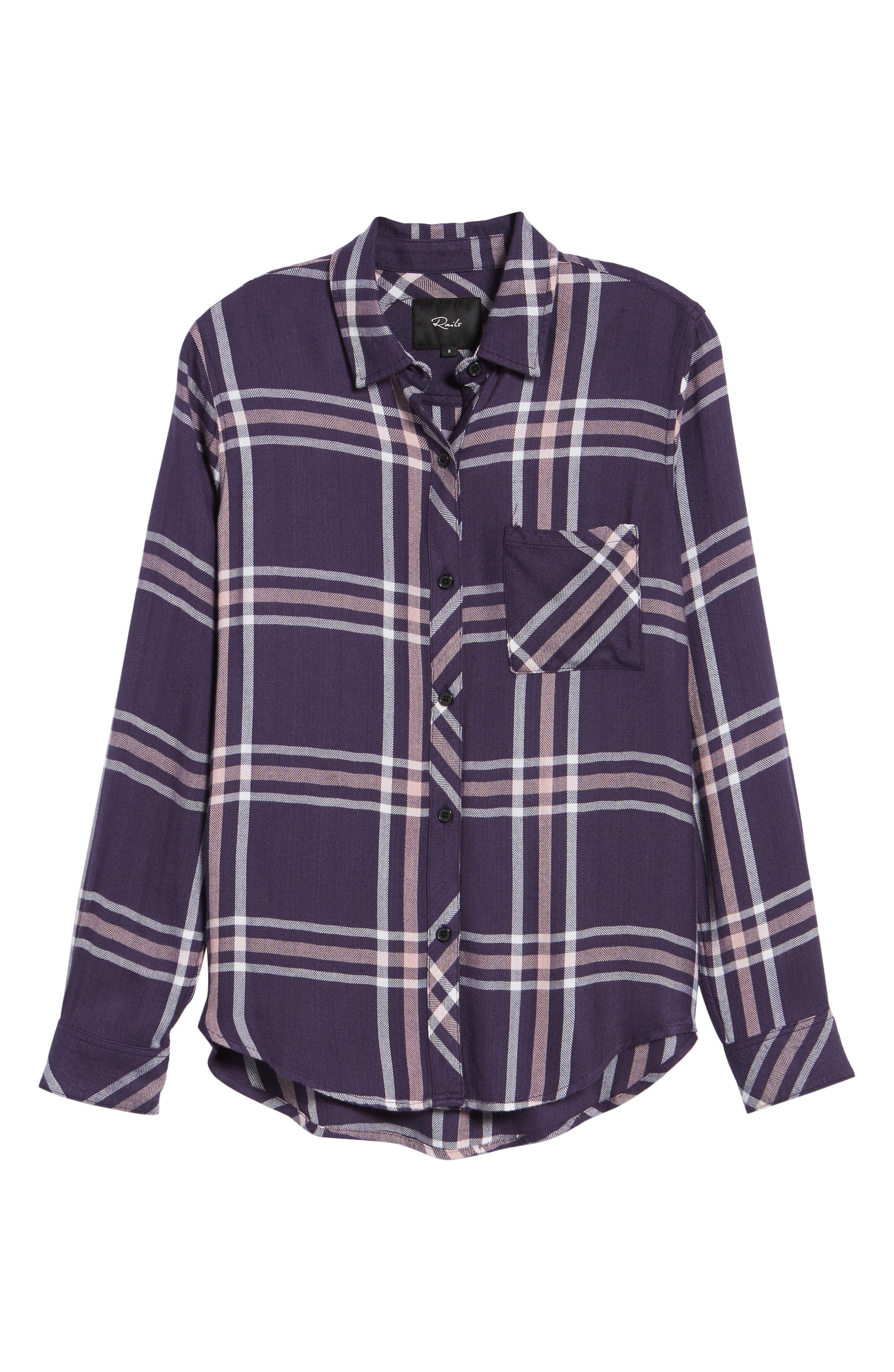 Hunter Plaid Shirt,                             Alternate thumbnail 717, color,