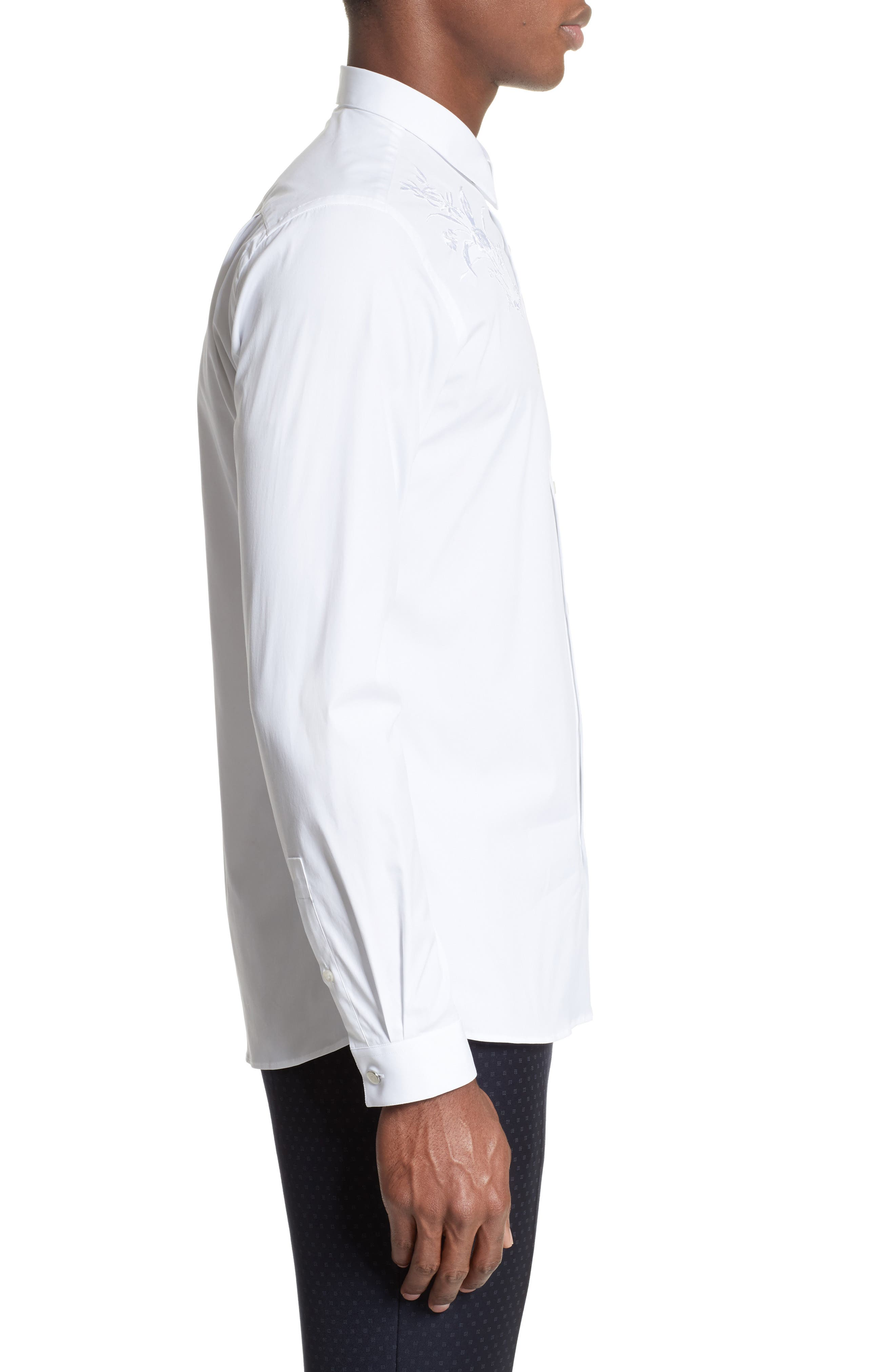 Embroidered Sport Shirt,                             Alternate thumbnail 4, color,                             100