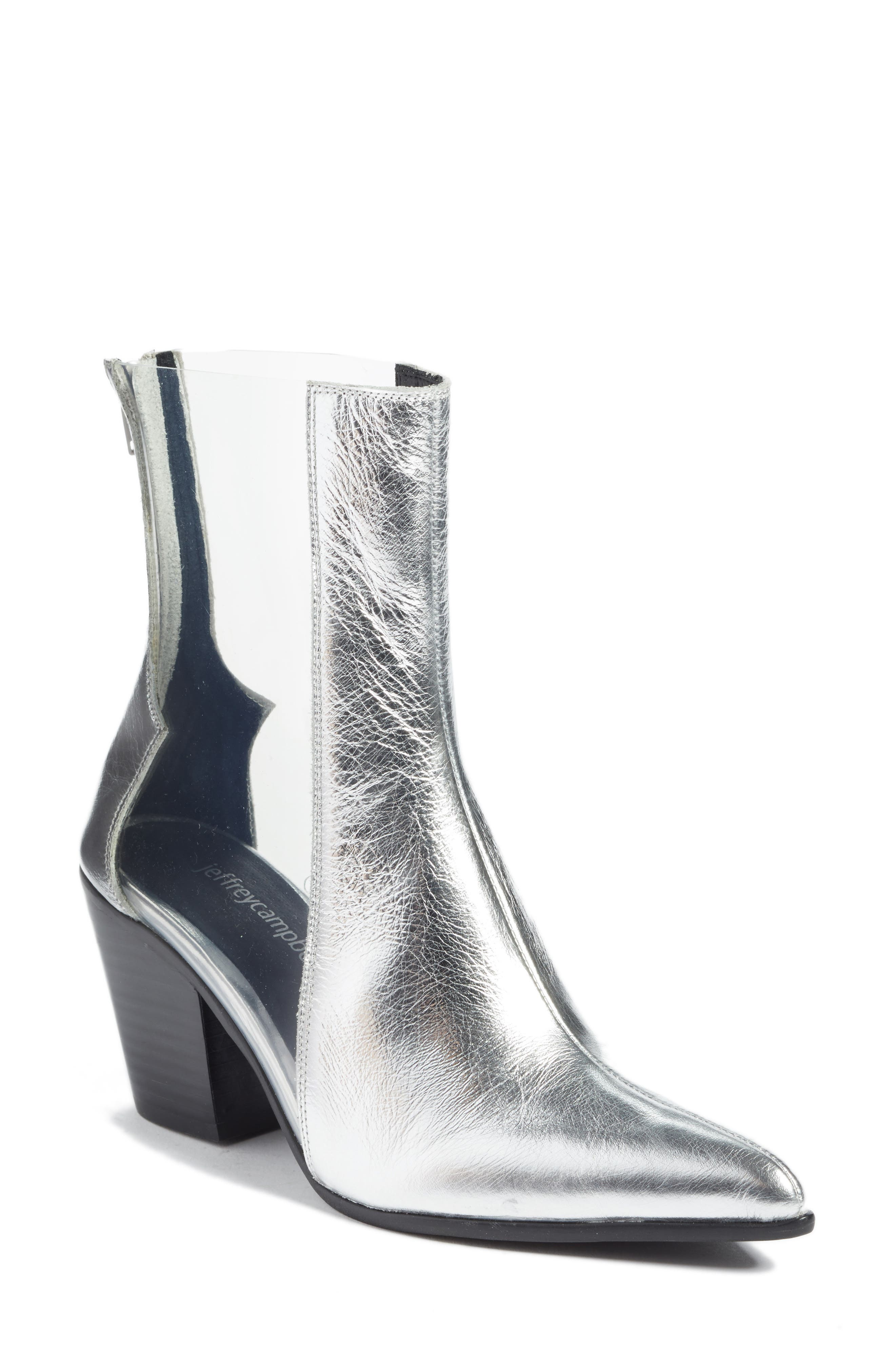 Aliases Boot,                         Main,                         color, SILVER LEATHER