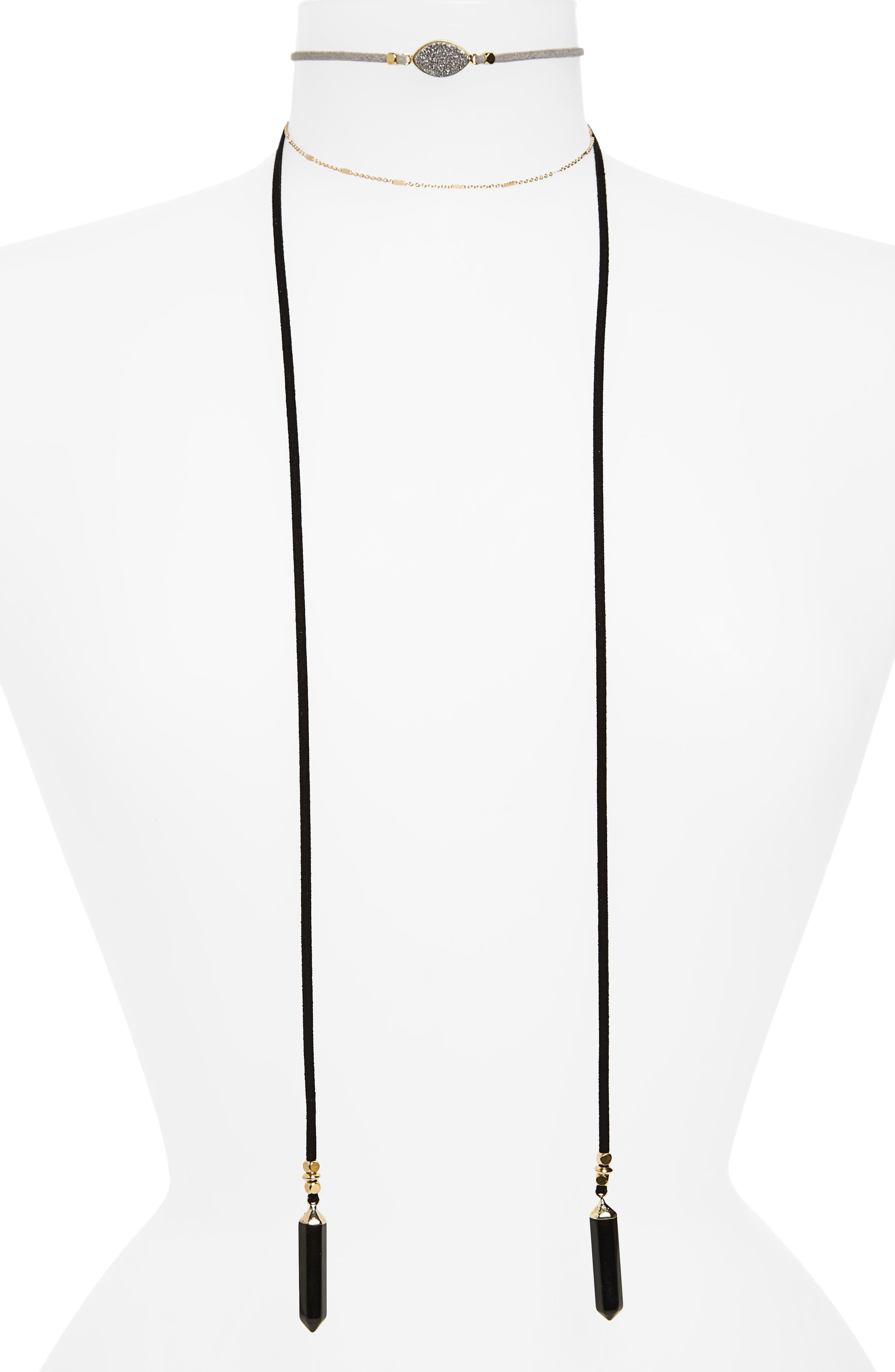 Multistrand Choker,                         Main,                         color, 710