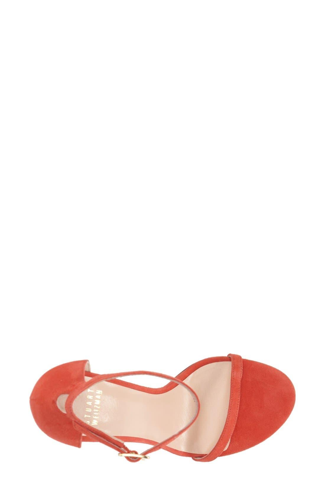 Nudistsong Ankle Strap Sandal,                             Alternate thumbnail 162, color,