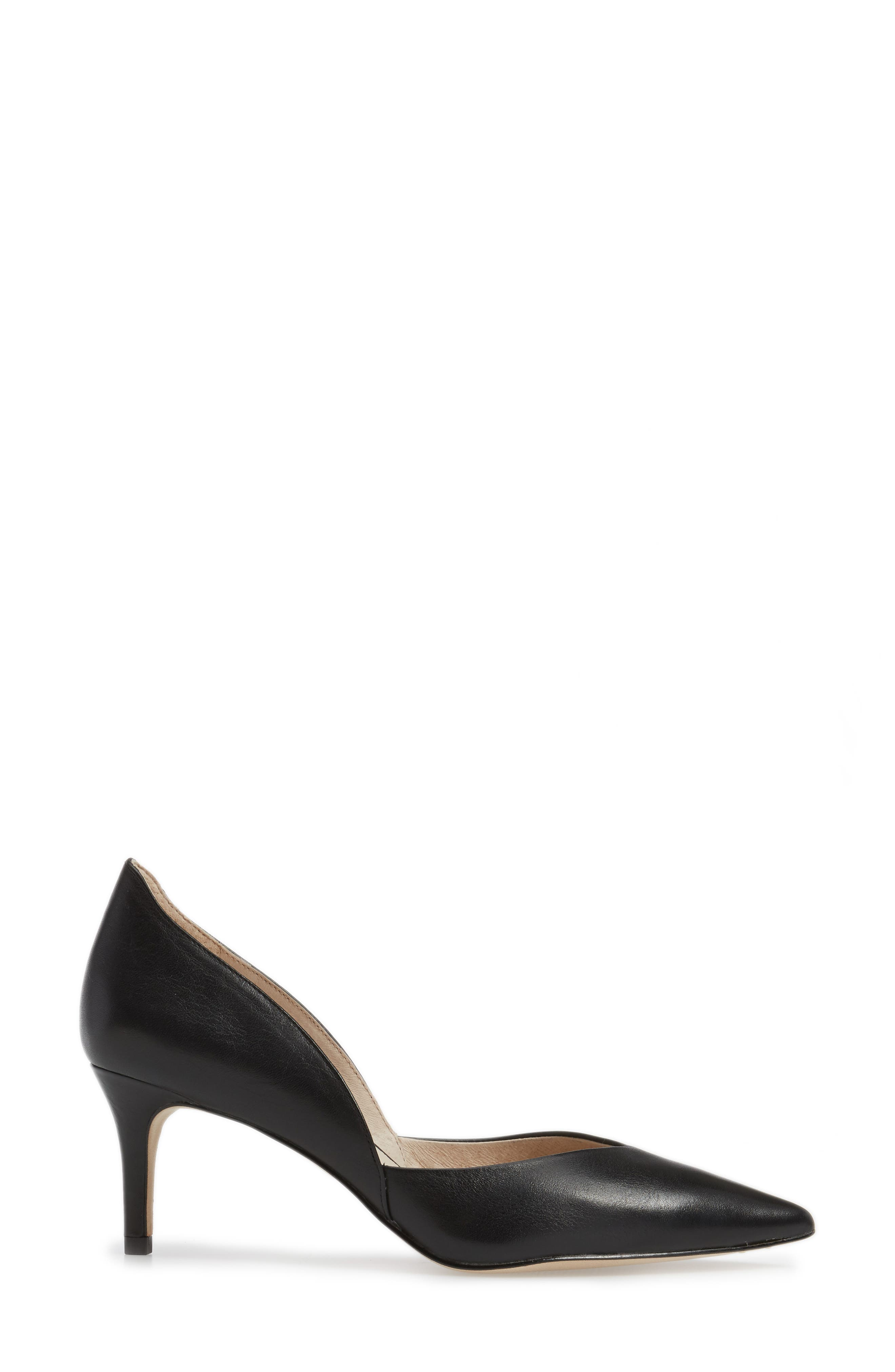 Jacee Pointy Toe Pump,                             Alternate thumbnail 3, color,                             002