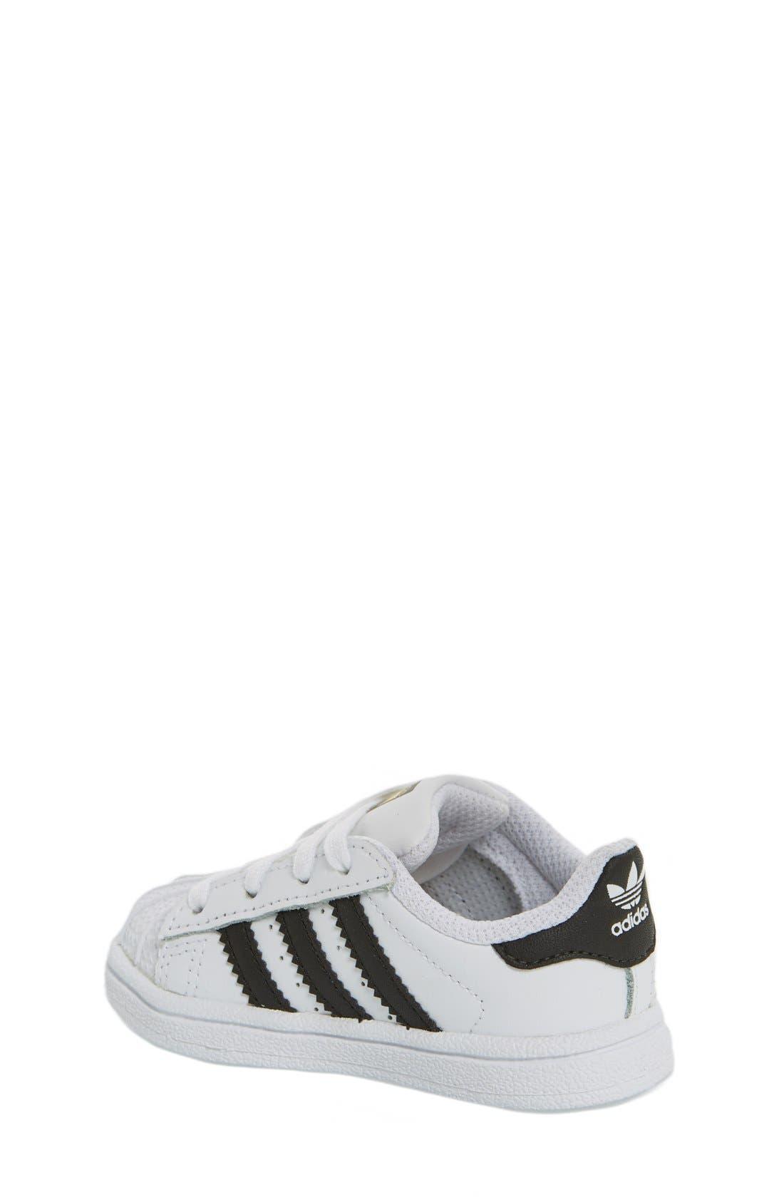 'Superstar' Sneaker,                             Alternate thumbnail 2, color,                             101