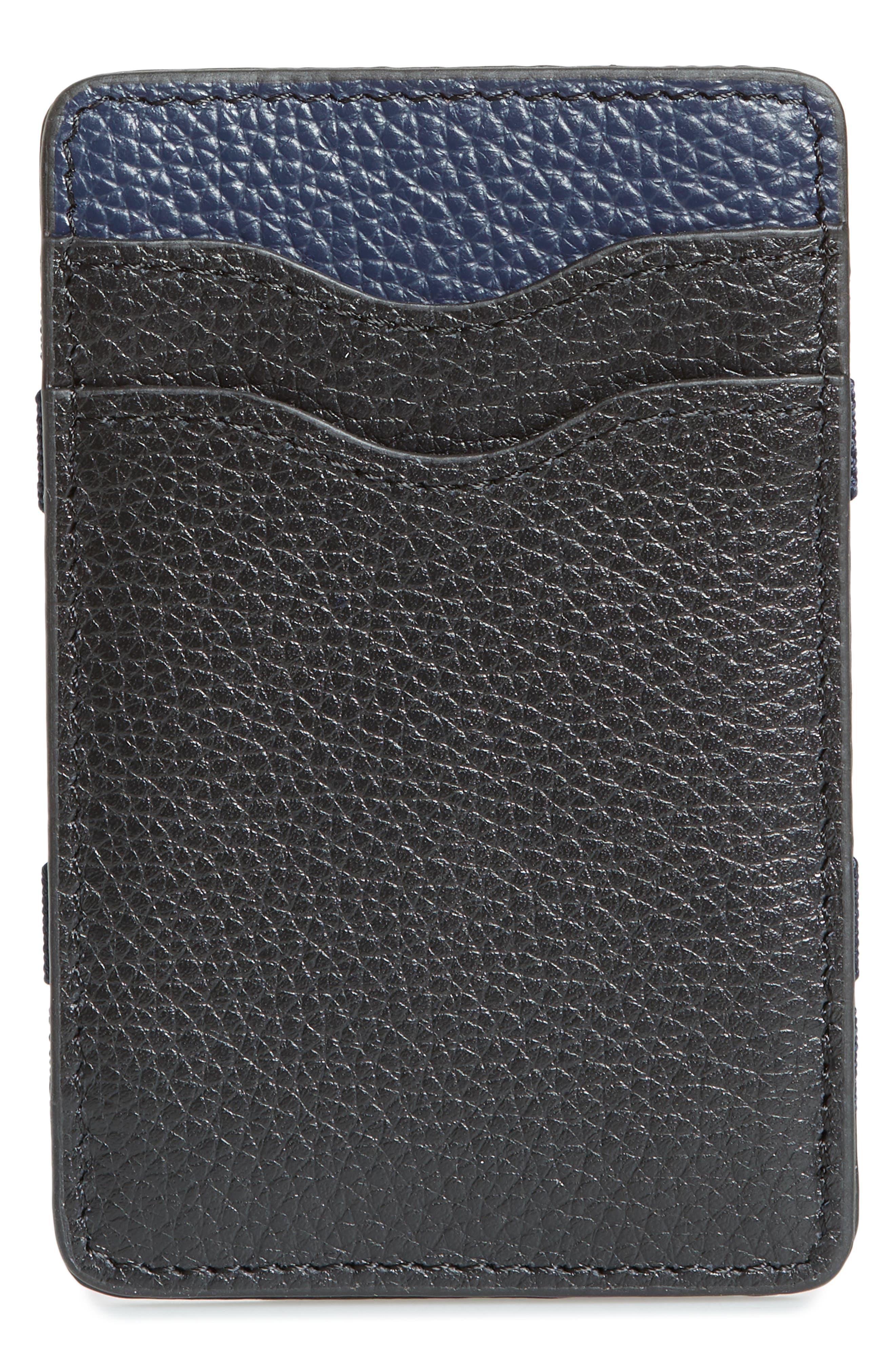 Jamie Magic Wallet,                             Main thumbnail 1, color,                             BLACK