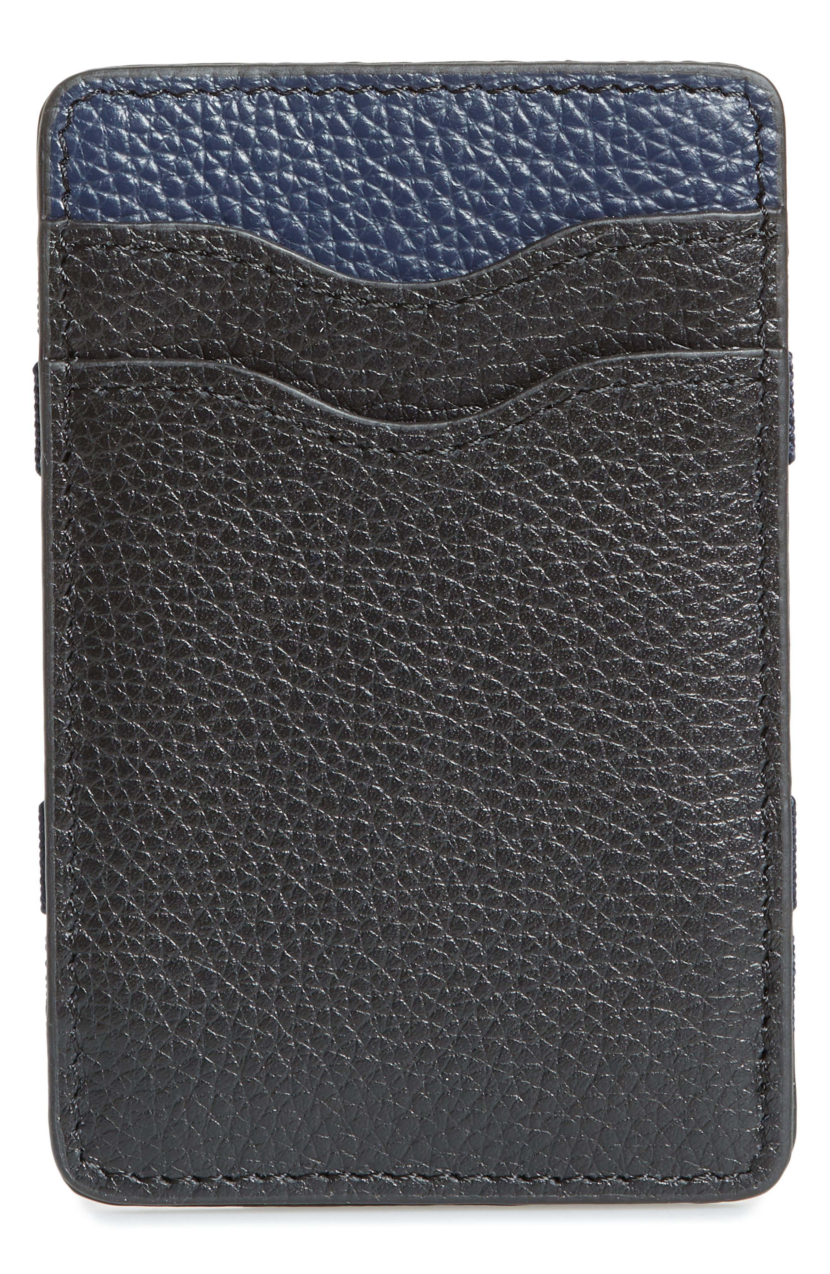Jamie Magic Wallet,                         Main,                         color, BLACK