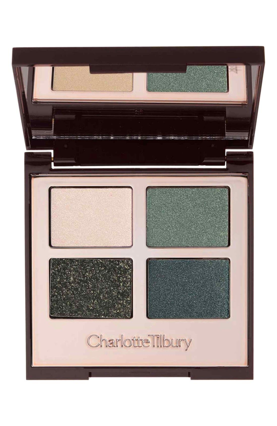 Luxury Palette - The Rebel Color-Coded Eyeshadow Palette,                             Main thumbnail 1, color,                             THE REBEL
