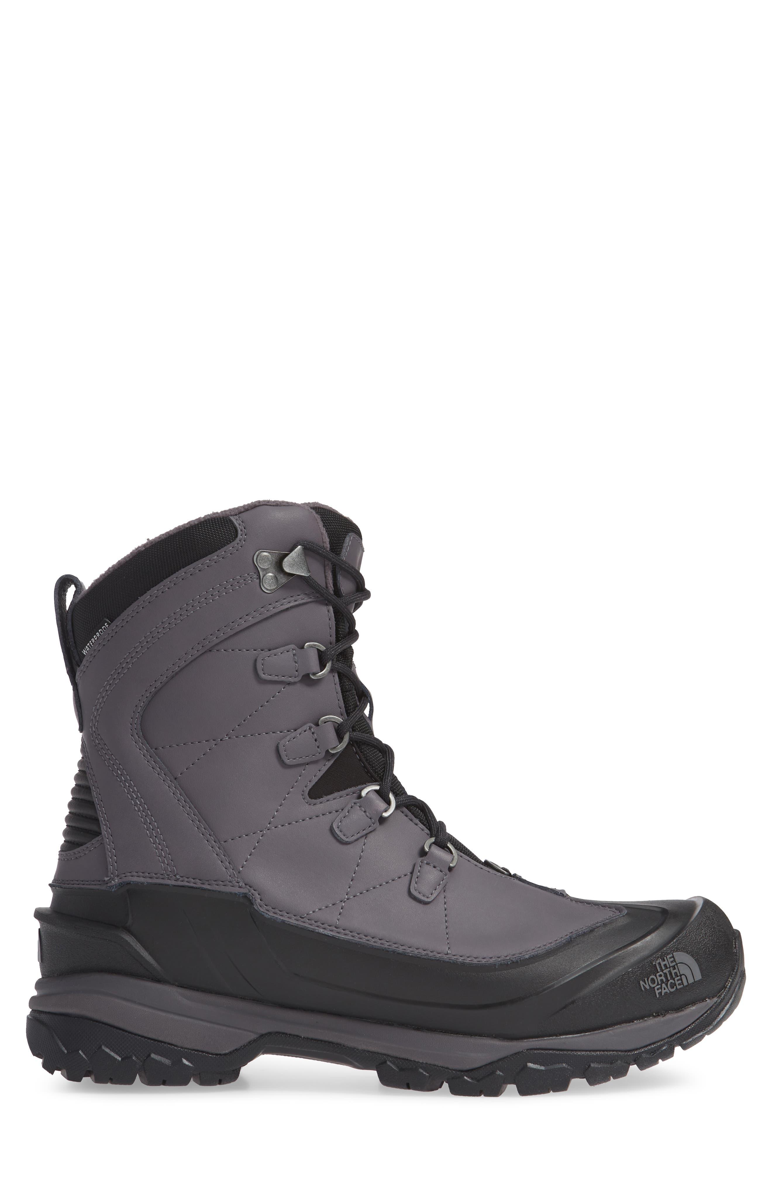 Chilkat Evo Waterproof Insulated Snow Boot,                             Alternate thumbnail 3, color,                             BLACKENED PEARL/ PHANTOM GREY