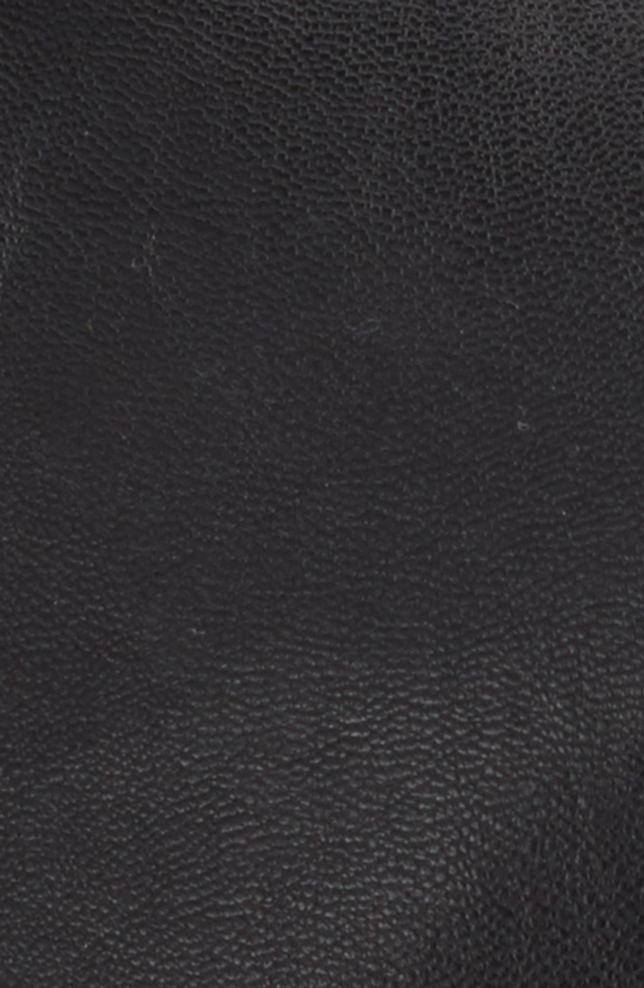 PHASE 3,                             Faux Leather Baseball Cap,                             Alternate thumbnail 2, color,                             001