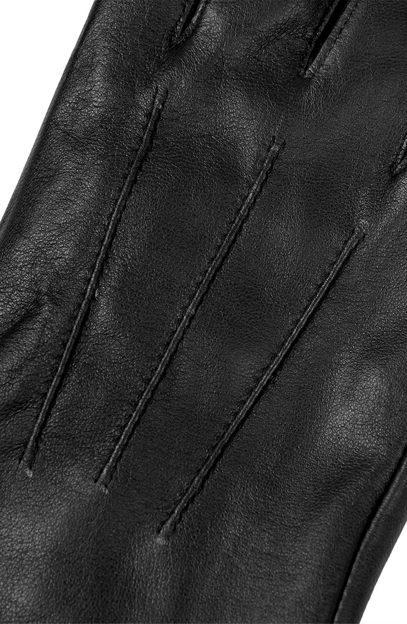 Leather Gloves,                             Alternate thumbnail 2, color,                             001