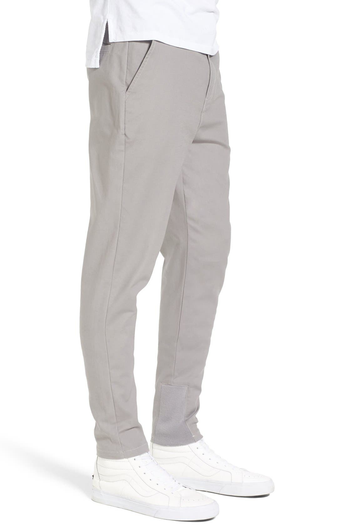 'Sharpshot' Slouchy Skinny Fit Chinos,                             Alternate thumbnail 22, color,