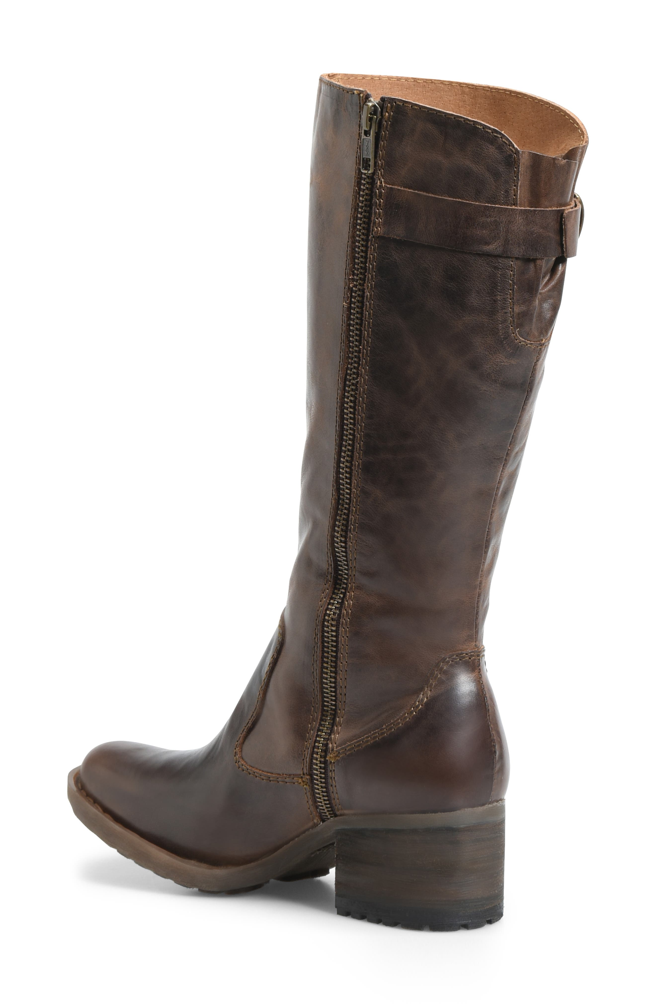 Knute Tall Boot,                             Alternate thumbnail 2, color,                             LIGHT BROWN LEATHER