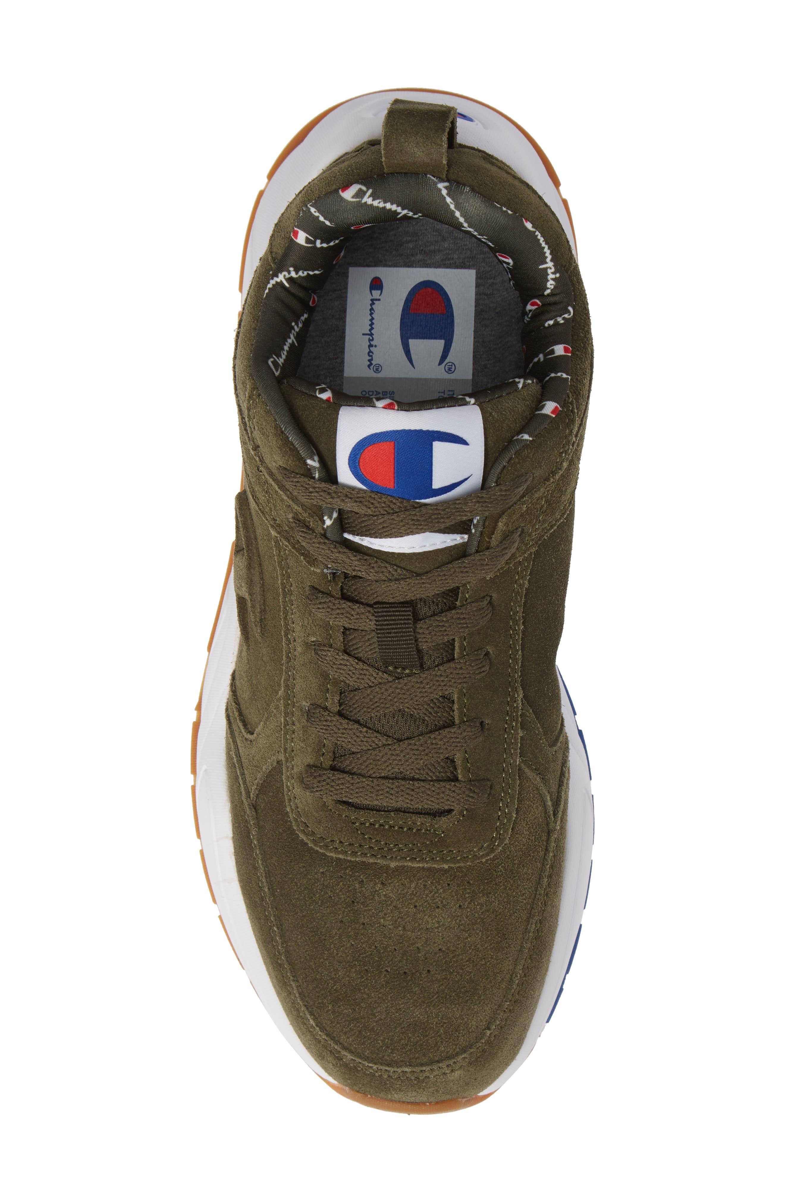 93Eighteen Sneaker,                             Alternate thumbnail 5, color,                             HIKER GREEN SUEDE