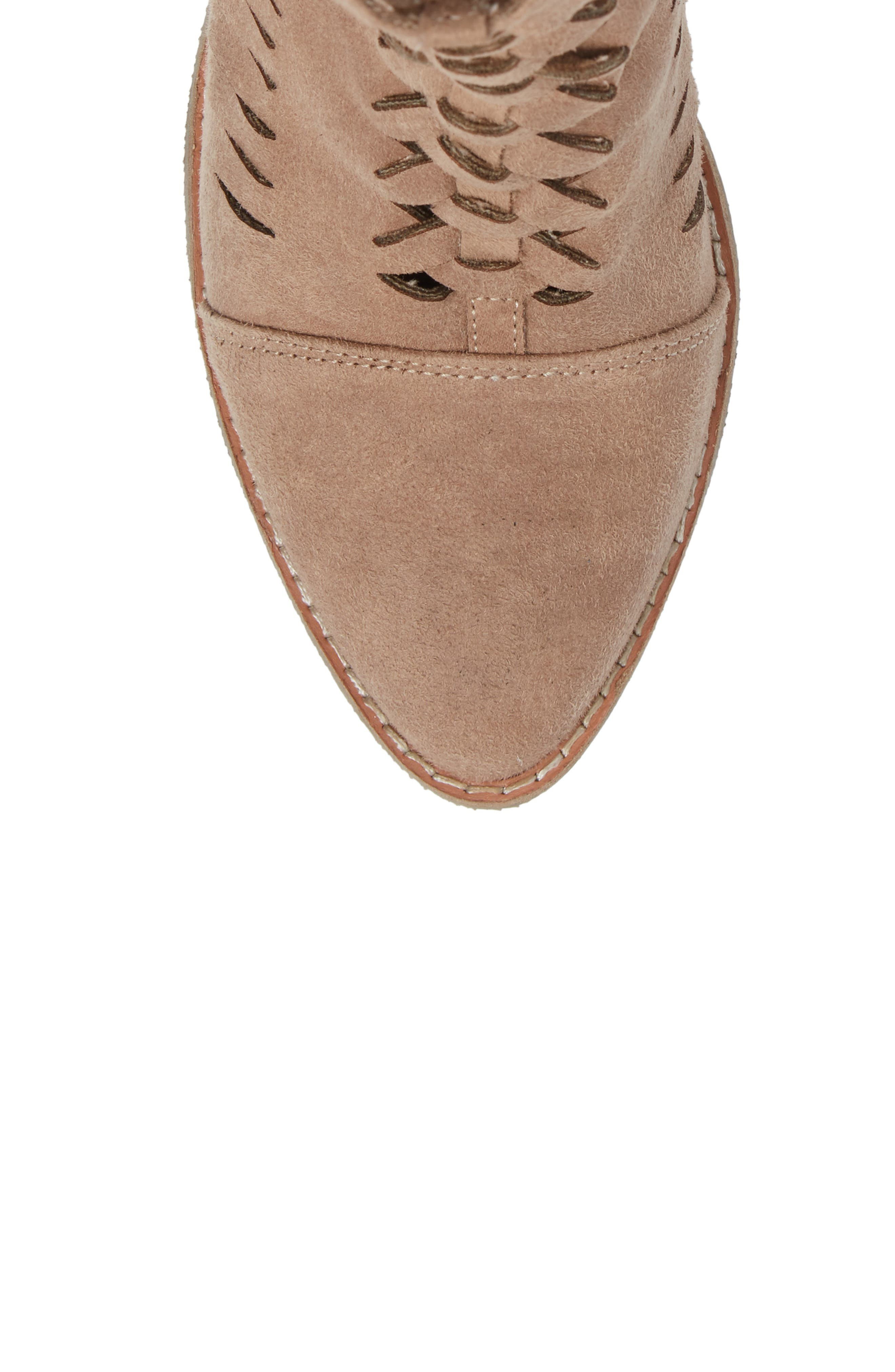 Ally Woven Bootie,                             Alternate thumbnail 13, color,