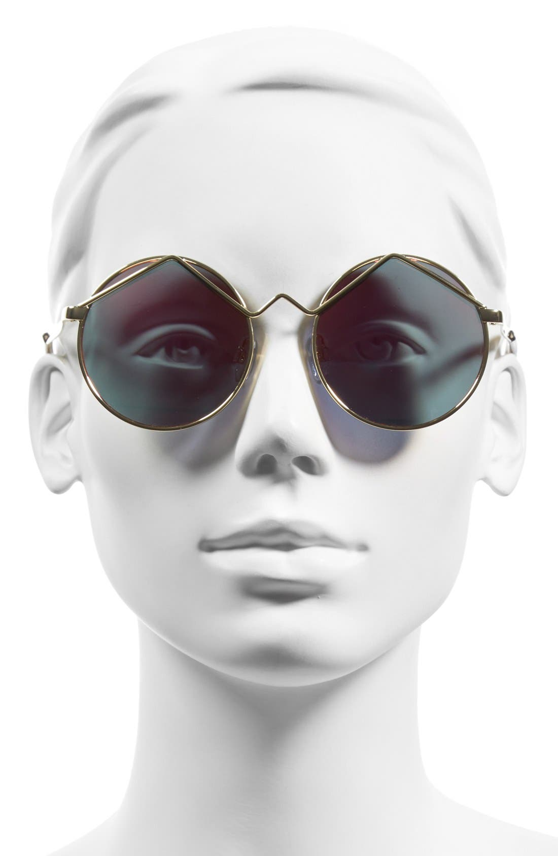 'Wild Child' 52mm Sunglasses,                             Alternate thumbnail 2, color,                             710