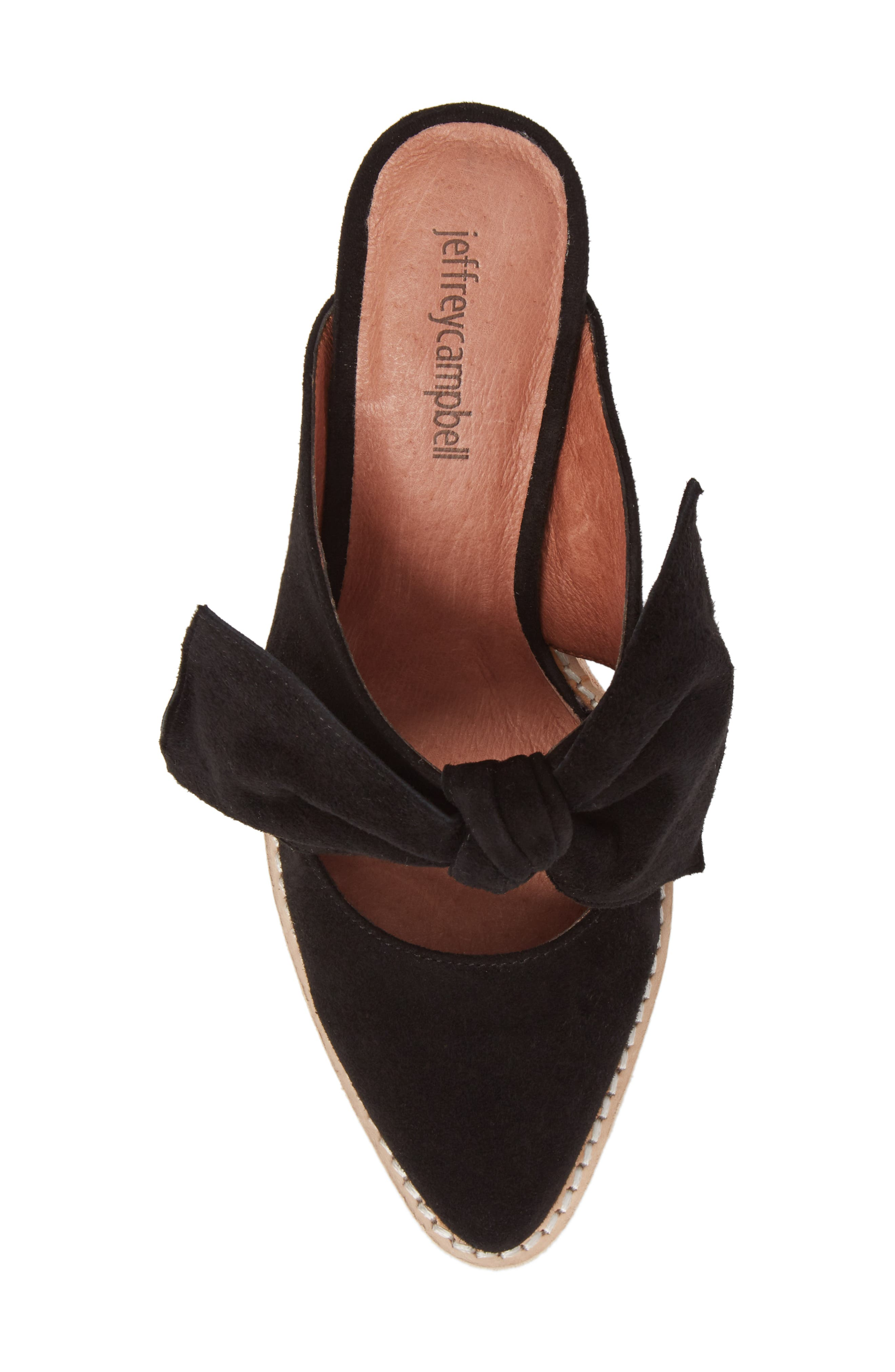 JEFFREY CAMPBELL,                             Cyrus Knotted Mary Jane Mule,                             Alternate thumbnail 5, color,                             001