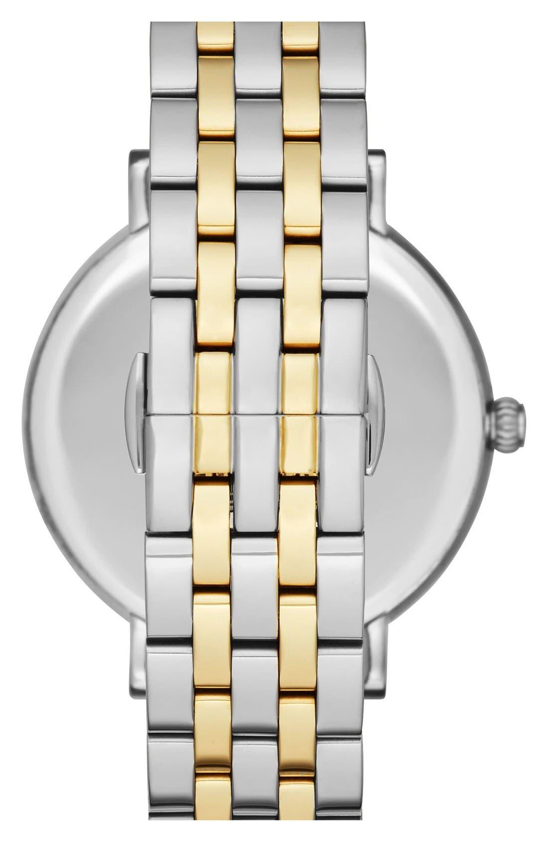 KATE SPADE NEW YORK,                             'monterey' bracelet watch, 38mm,                             Alternate thumbnail 2, color,                             040