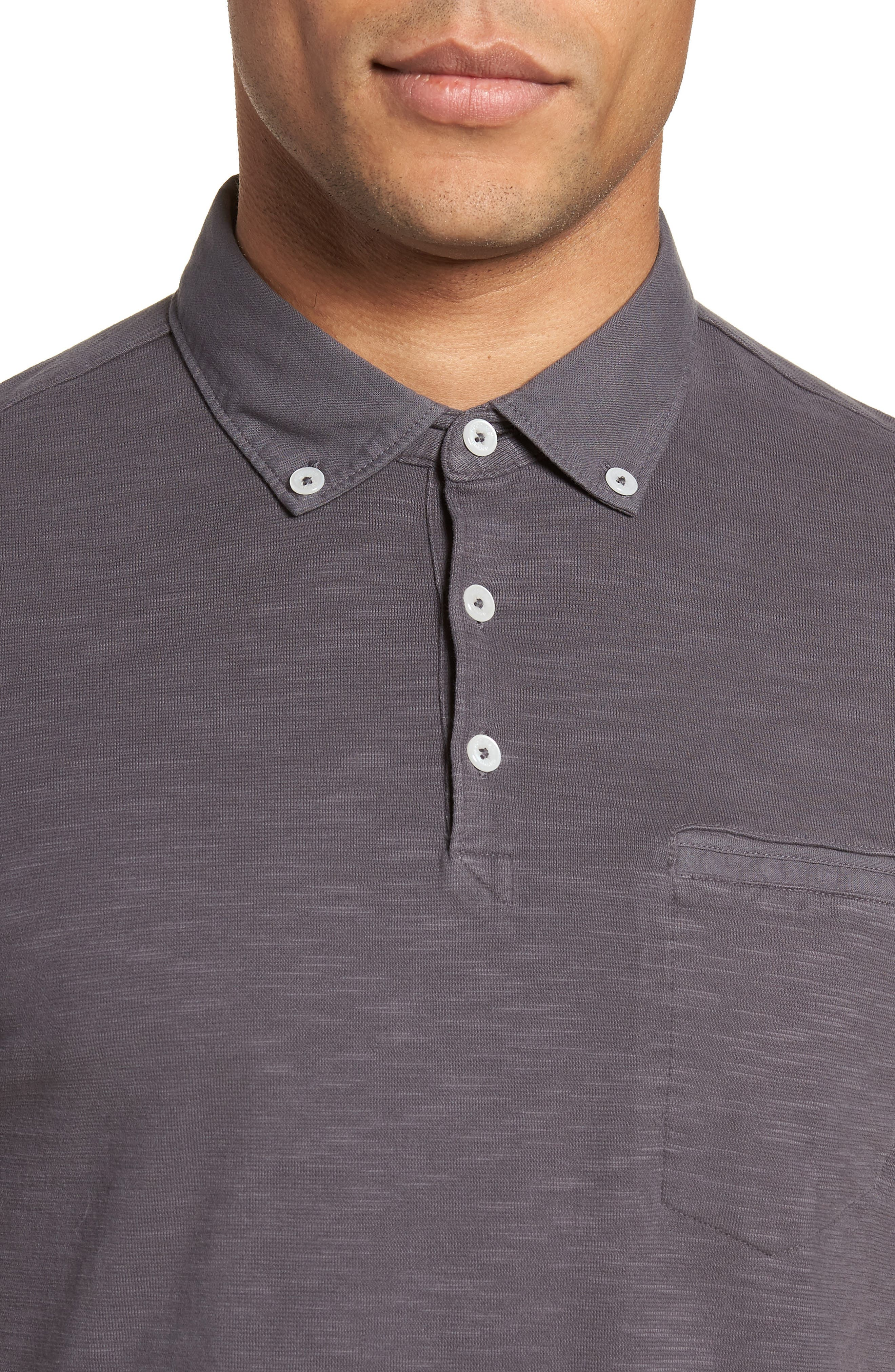Slim Fit Polo,                             Alternate thumbnail 4, color,                             051