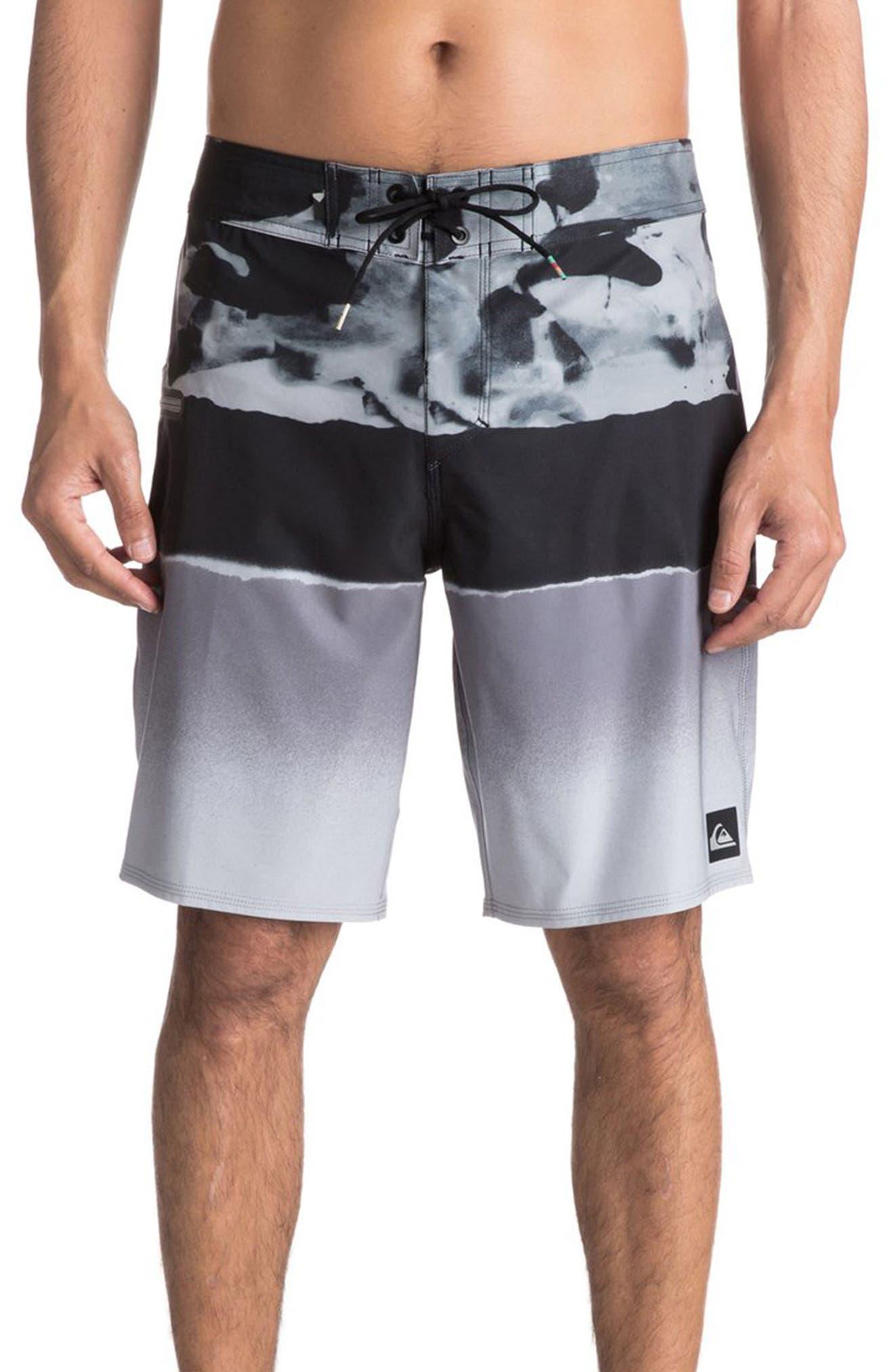 Blocked Resin Board Shorts,                             Alternate thumbnail 10, color,