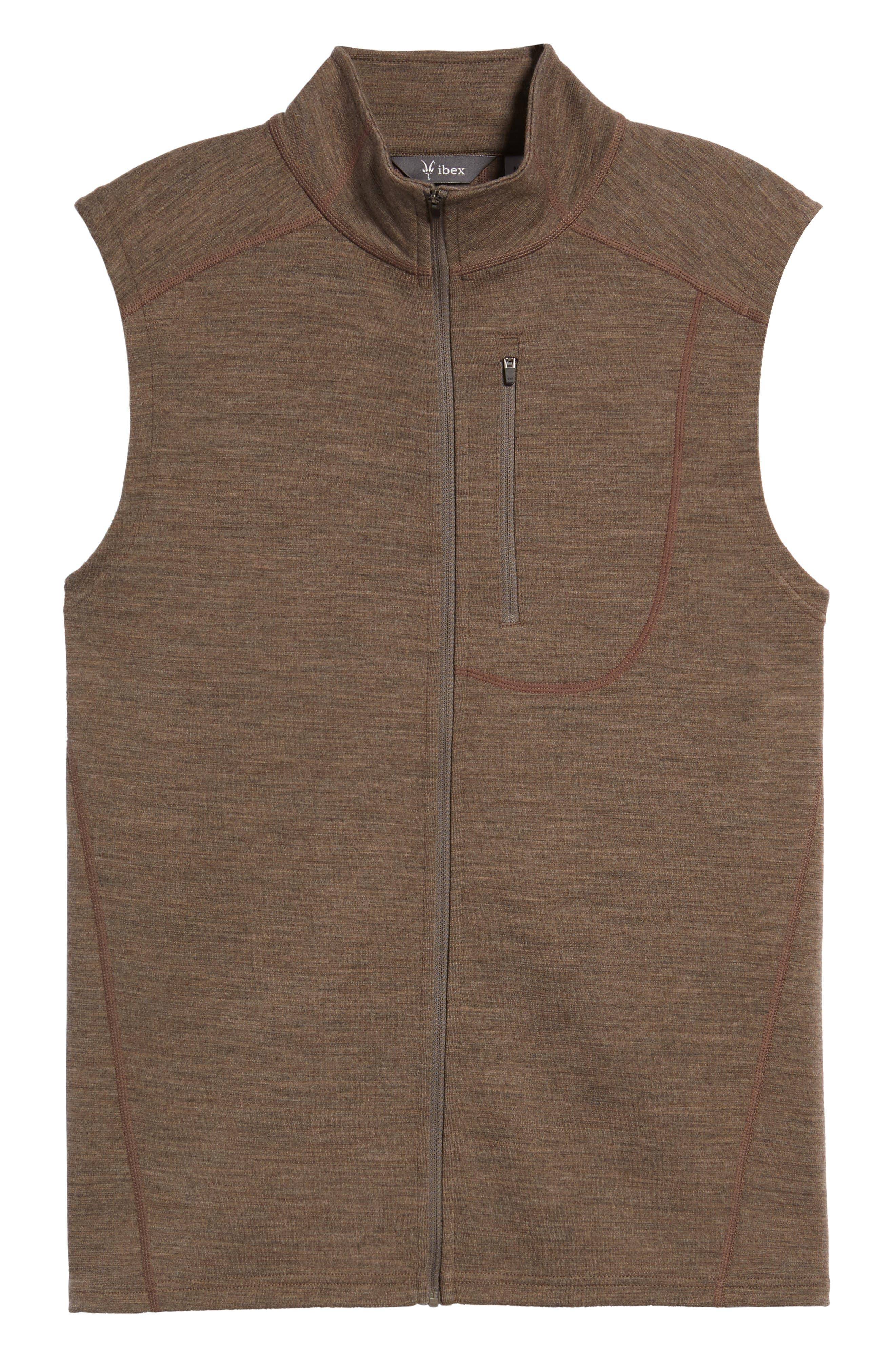 'Shak' Merino Wool Vest,                             Alternate thumbnail 5, color,                             250