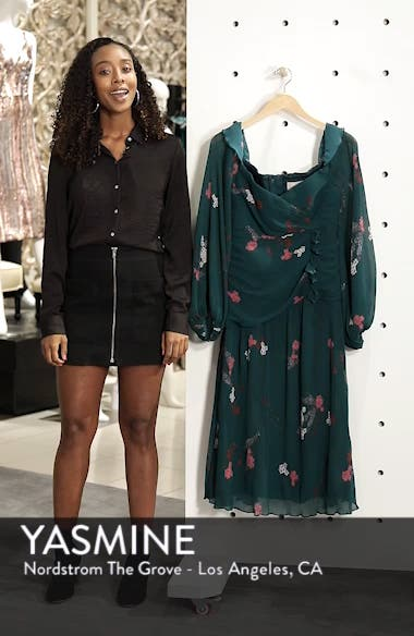 Night Fall Midi Dress, sales video thumbnail