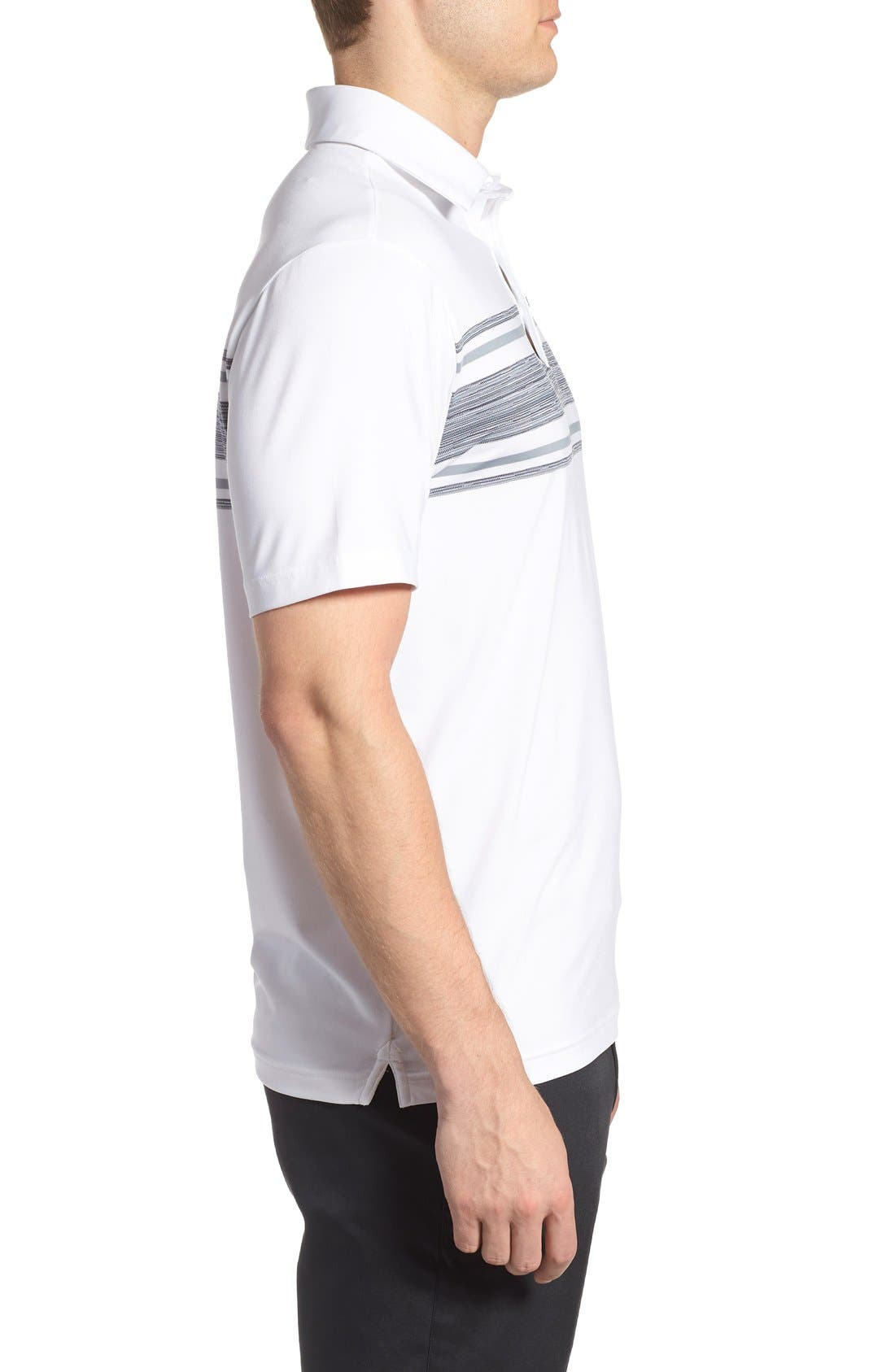 'Playoff' Loose Fit Short Sleeve Polo,                             Alternate thumbnail 191, color,