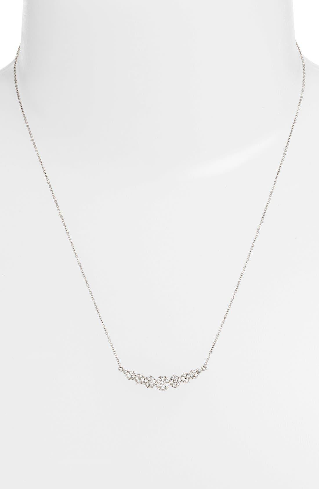 BONY LEVY,                             'Liora' Diamond Pendant Necklace,                             Alternate thumbnail 2, color,                             711