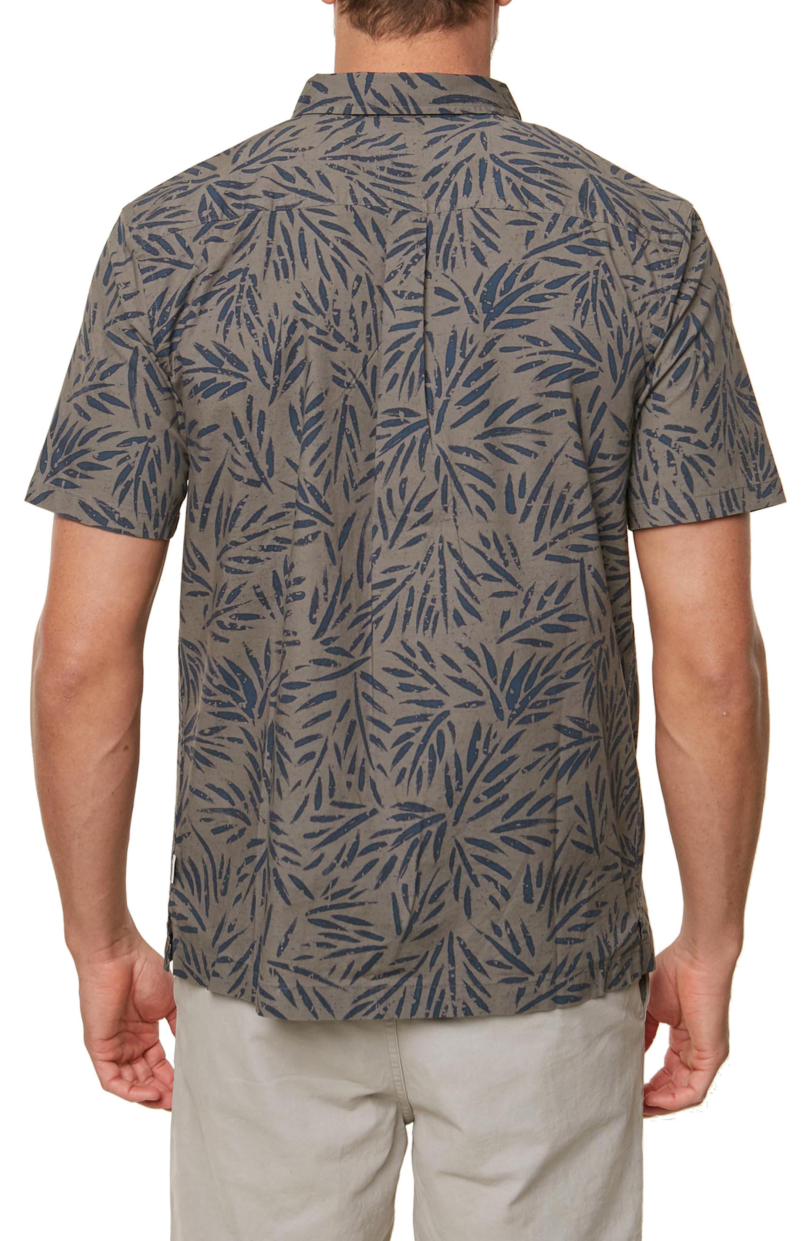 Palms Away Regular Fit Sport Shirt,                             Alternate thumbnail 2, color,                             GREY