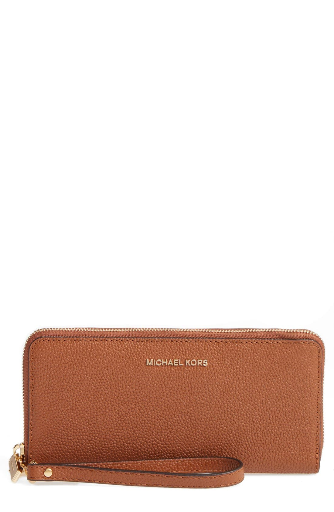 'Mercer' Leather Continental Wallet,                             Main thumbnail 3, color,