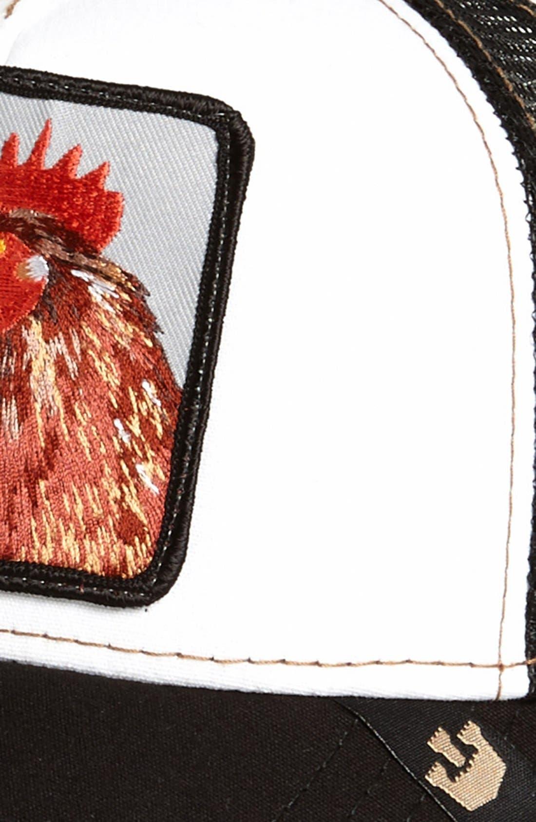 'Chicken' Trucker Cap,                             Alternate thumbnail 3, color,