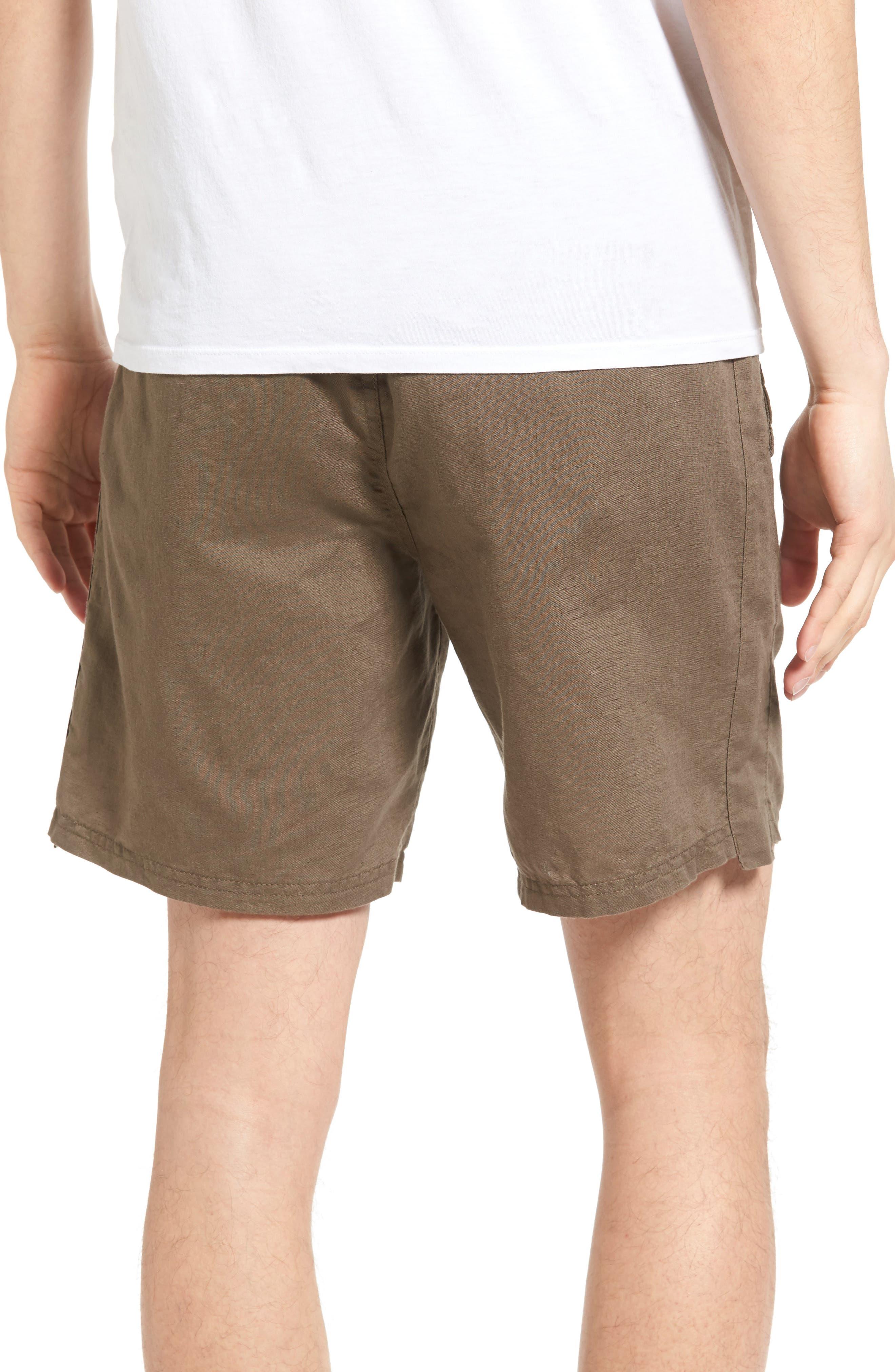 Omni Linen Blend Shorts,                             Alternate thumbnail 2, color,                             310