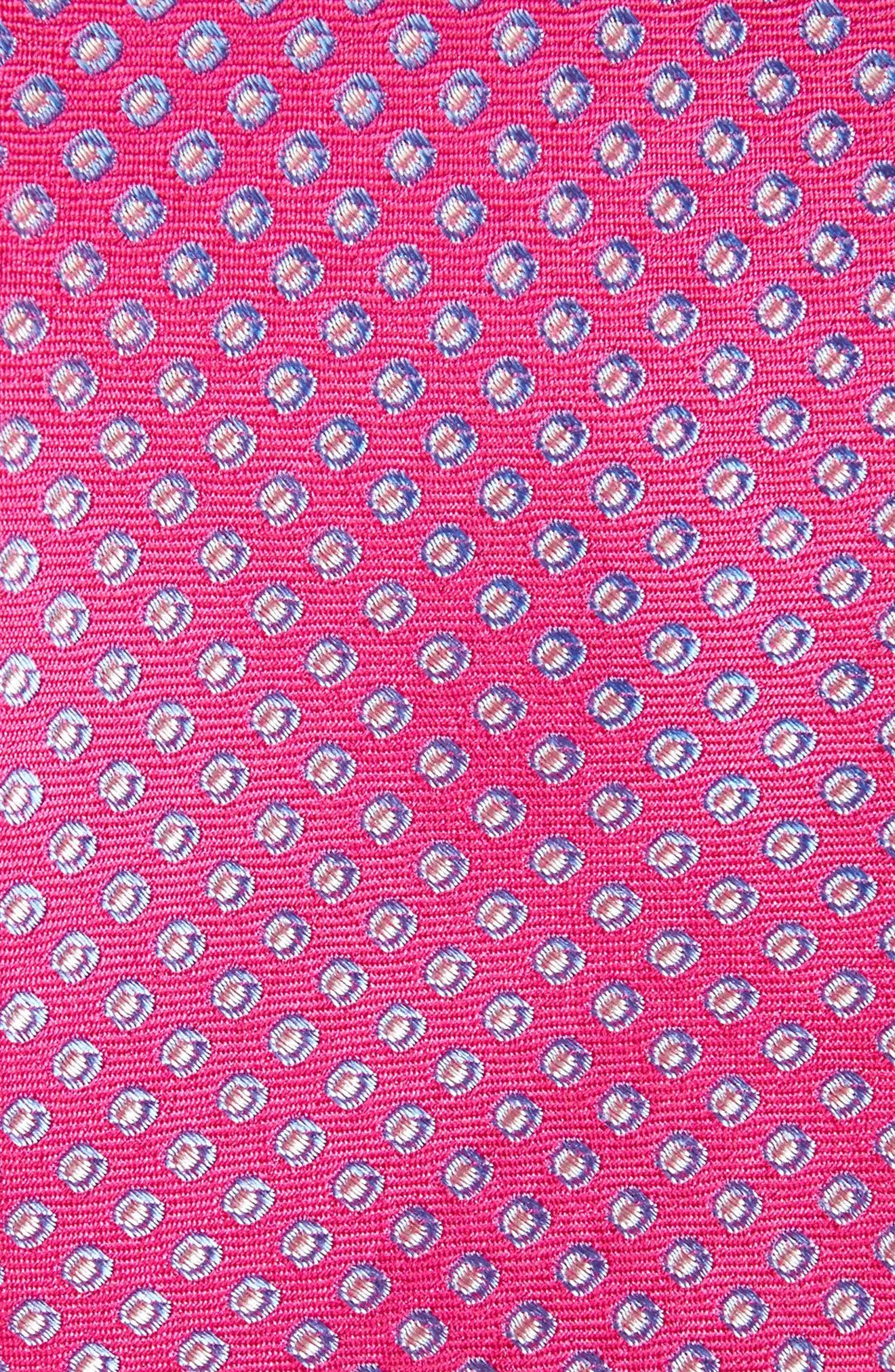 Oxford Dot Silk Tie,                             Alternate thumbnail 14, color,