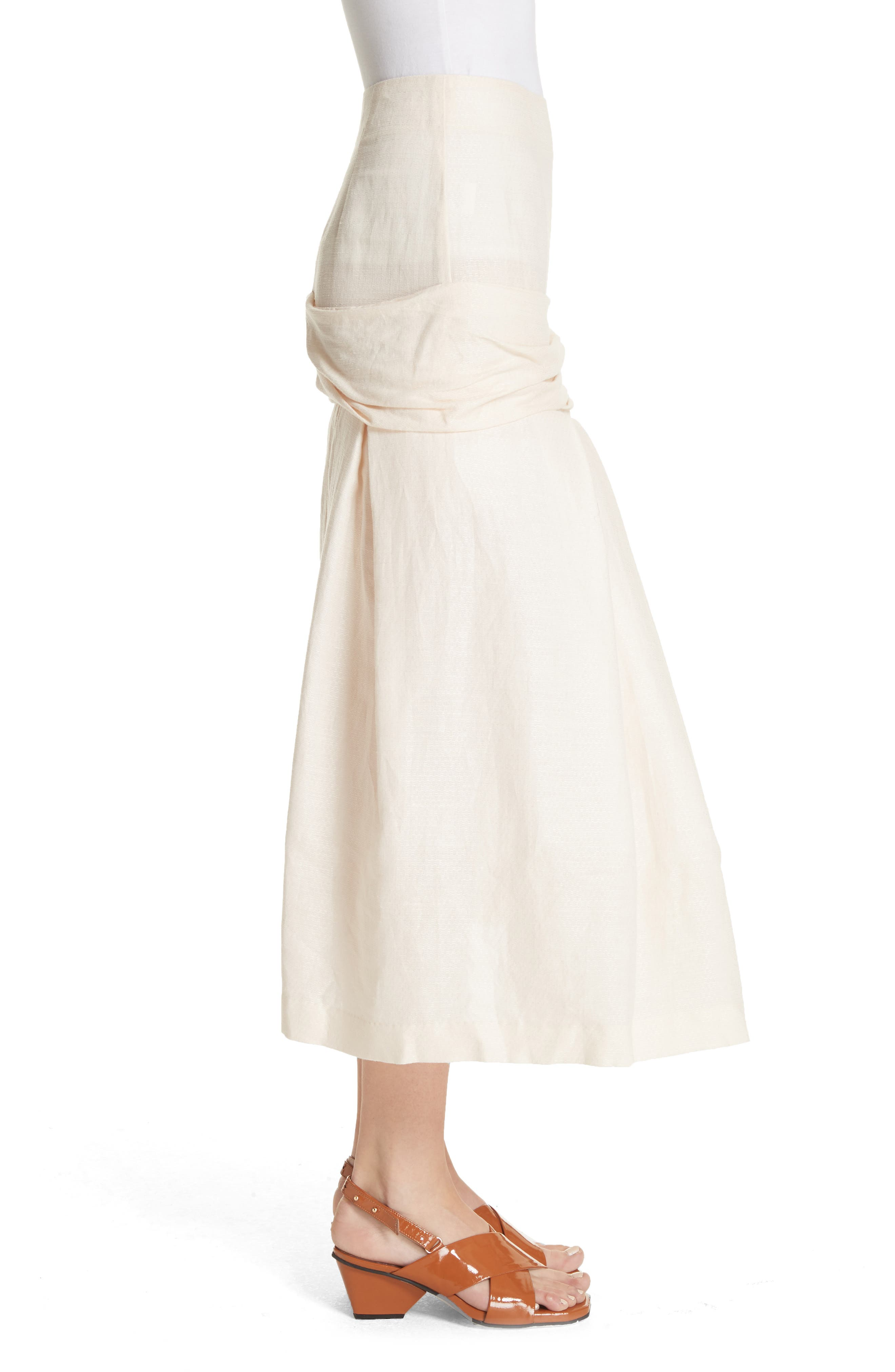 La Jupe Mamao Skirt,                             Alternate thumbnail 3, color,                             250