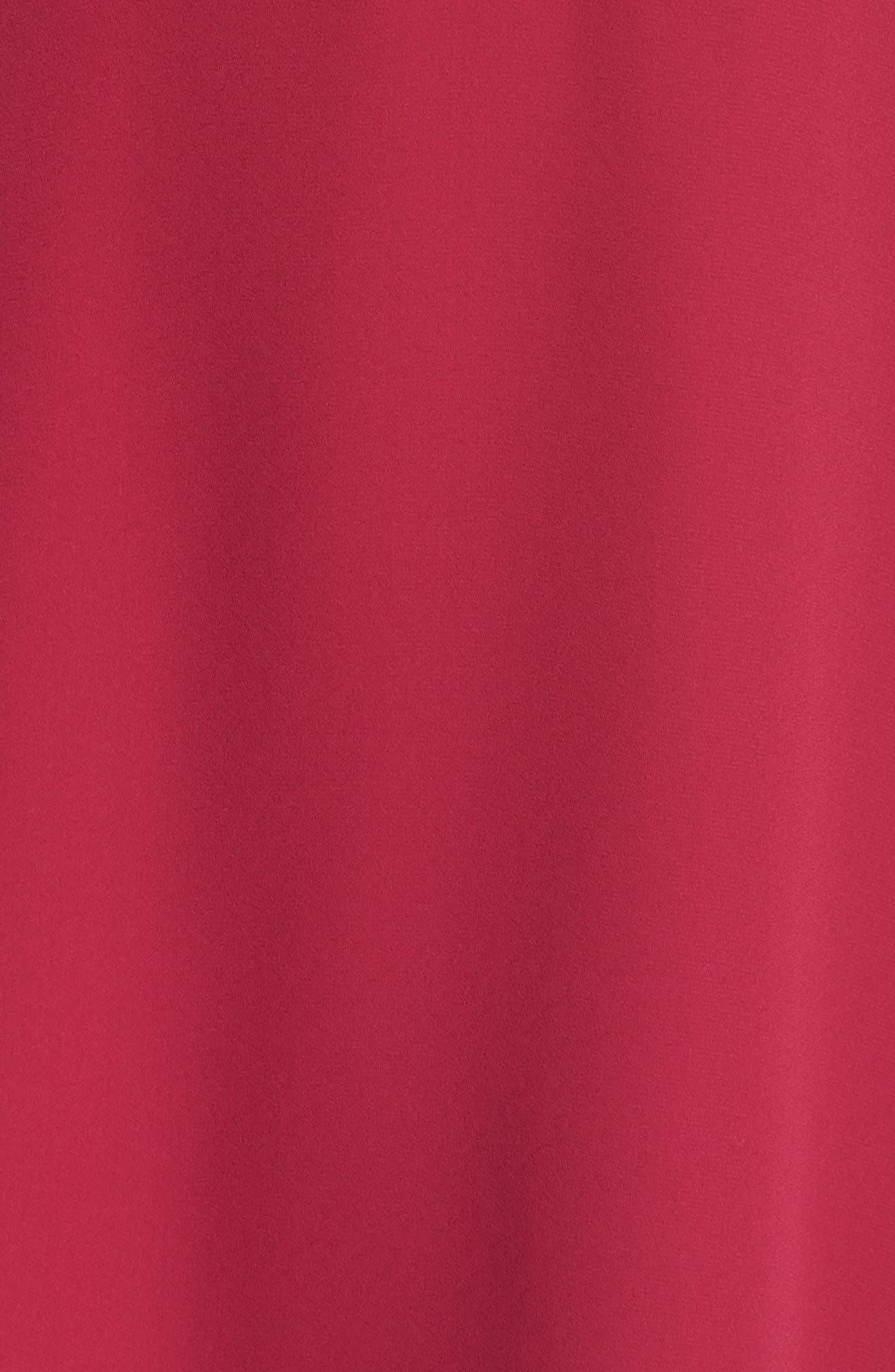 Trumpet Sleeve Dress,                             Alternate thumbnail 6, color,                             654