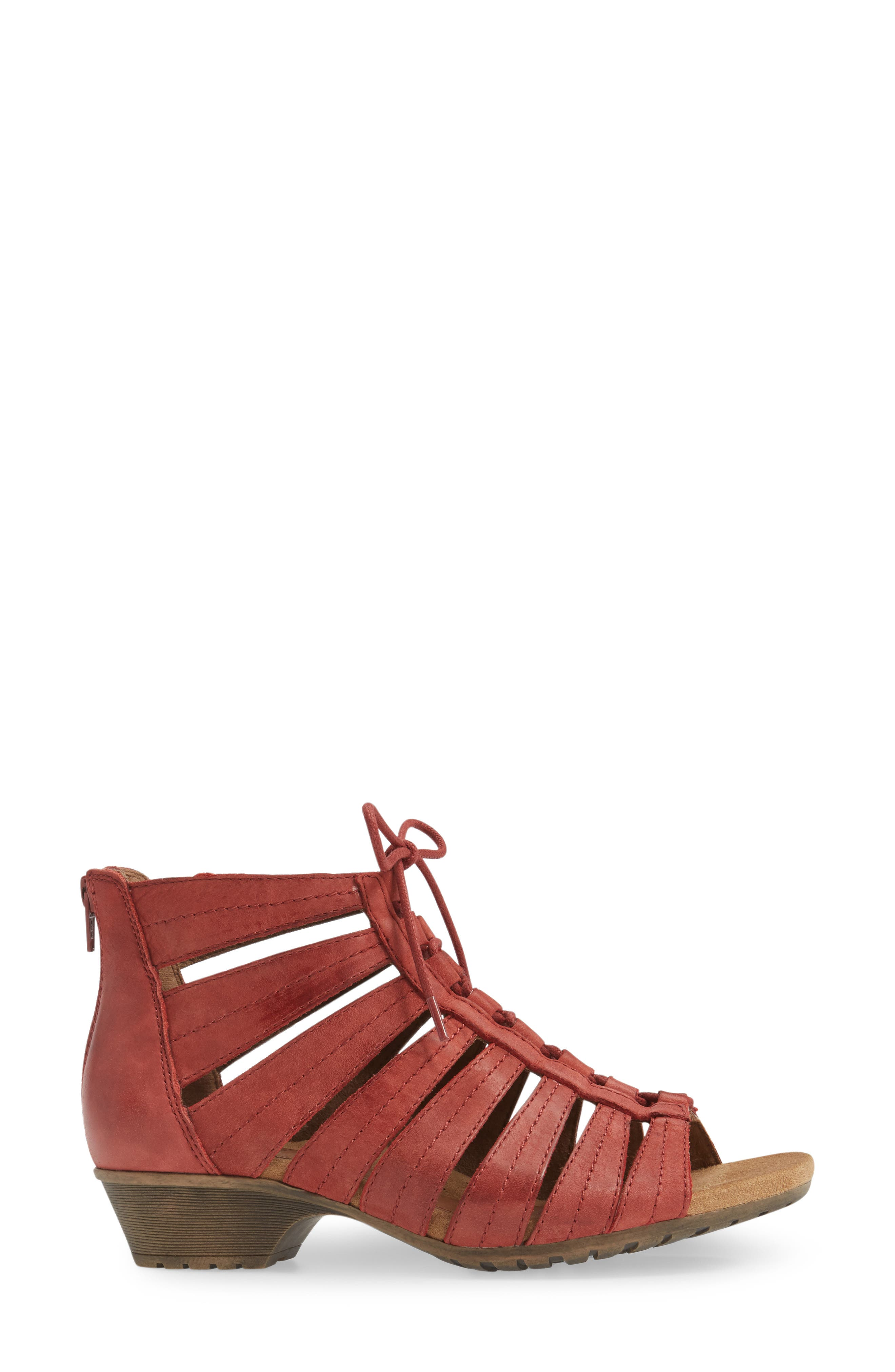 'Gabby' Lace-Up Sandal,                             Alternate thumbnail 24, color,