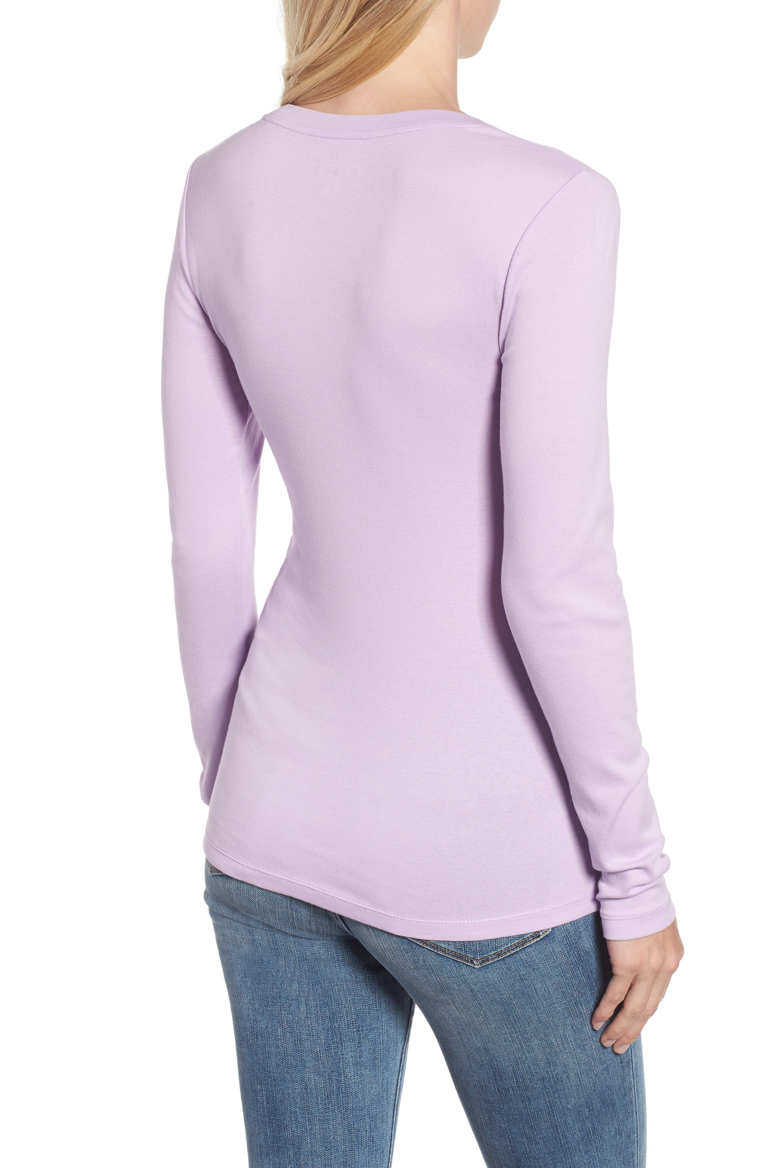'Melody' Long Sleeve Scoop Neck Tee,                             Alternate thumbnail 2, color,                             530