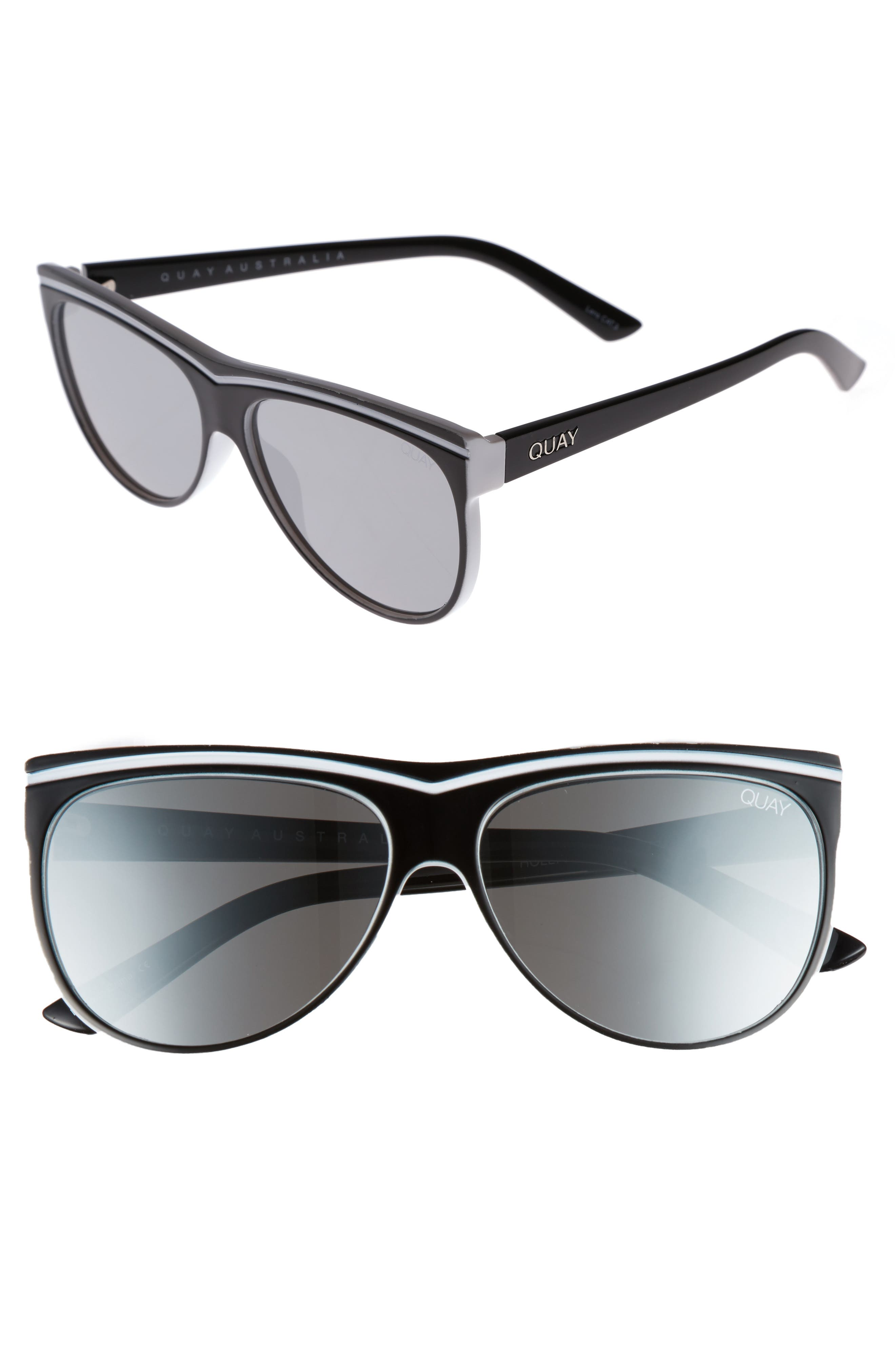 Hollywood Nights 62mm Sunglasses,                             Main thumbnail 1, color,
