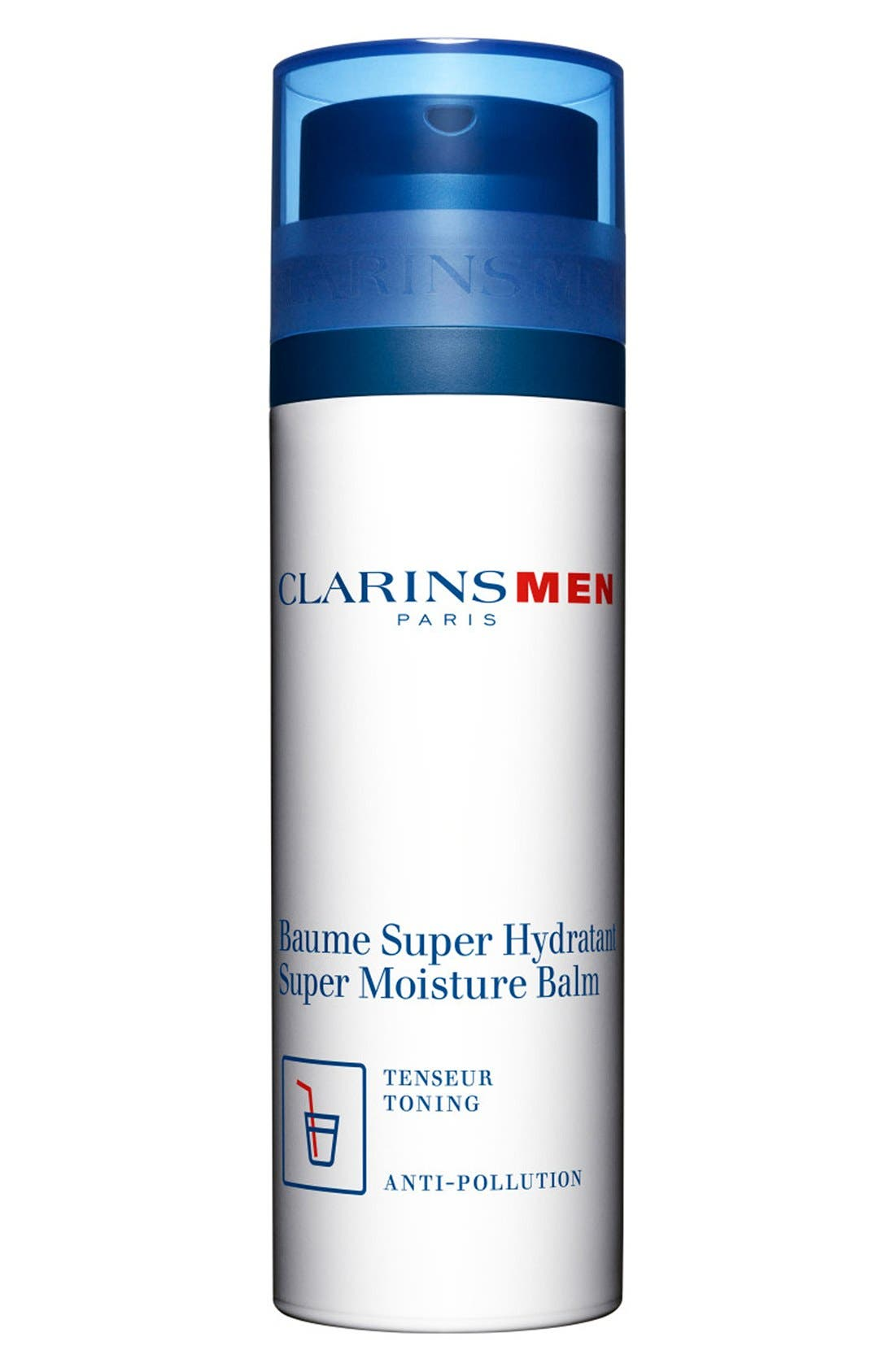 Men Super Moisture Balm,                             Main thumbnail 1, color,                             000