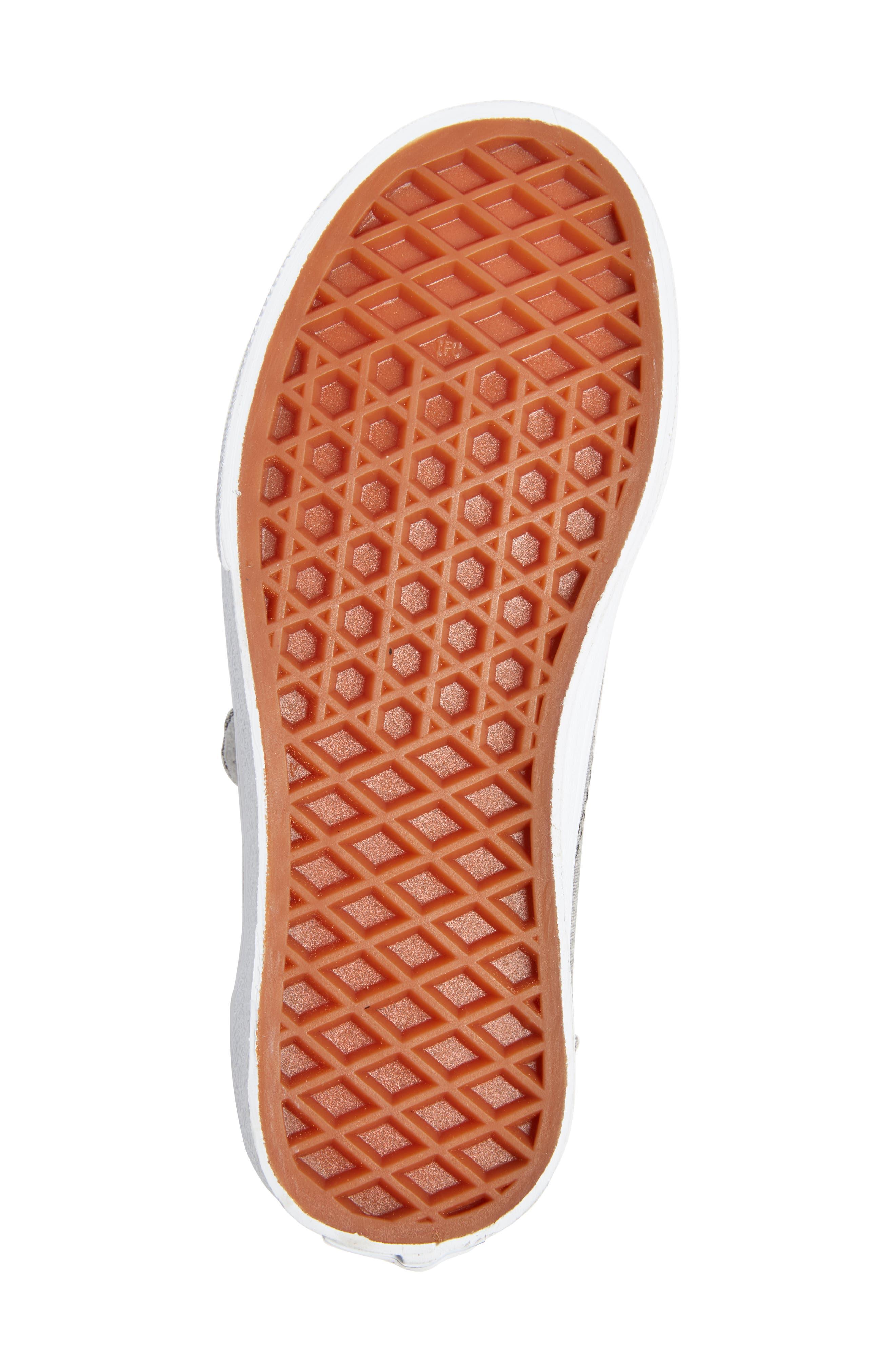 'Old Skool' Sneaker,                             Alternate thumbnail 6, color,                             OXFORD GRAY TRUE WHITE