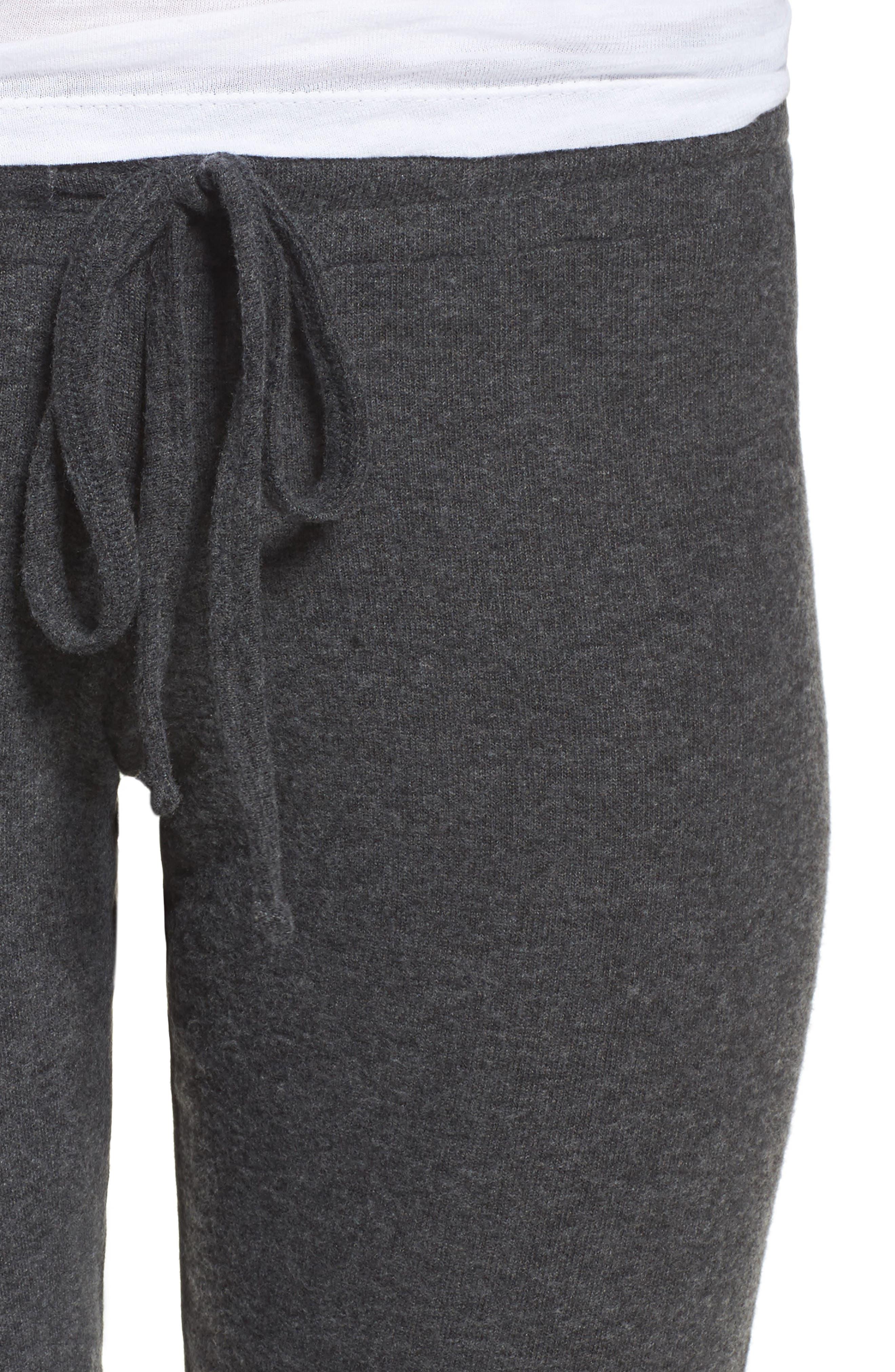 'Bear' Slim Lounge Pants,                             Alternate thumbnail 4, color,                             002