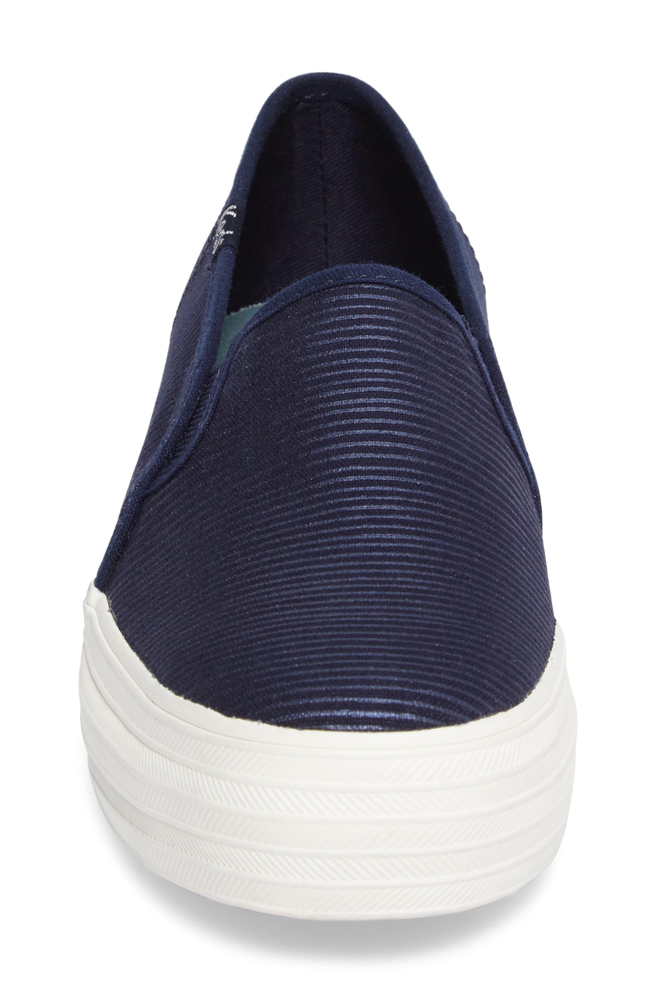 Triple Decker Slip-On Platform Sneaker,                             Alternate thumbnail 34, color,