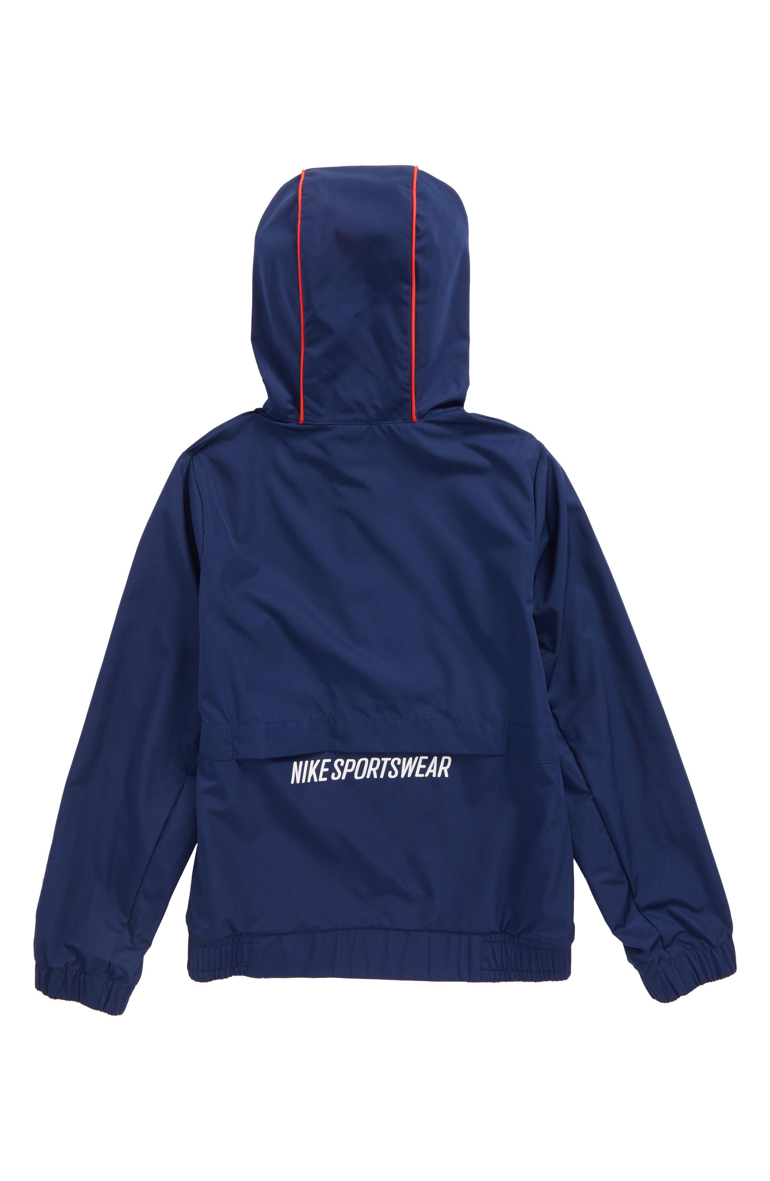 Sportswear Quarter Zip Hoodie,                             Alternate thumbnail 2, color,