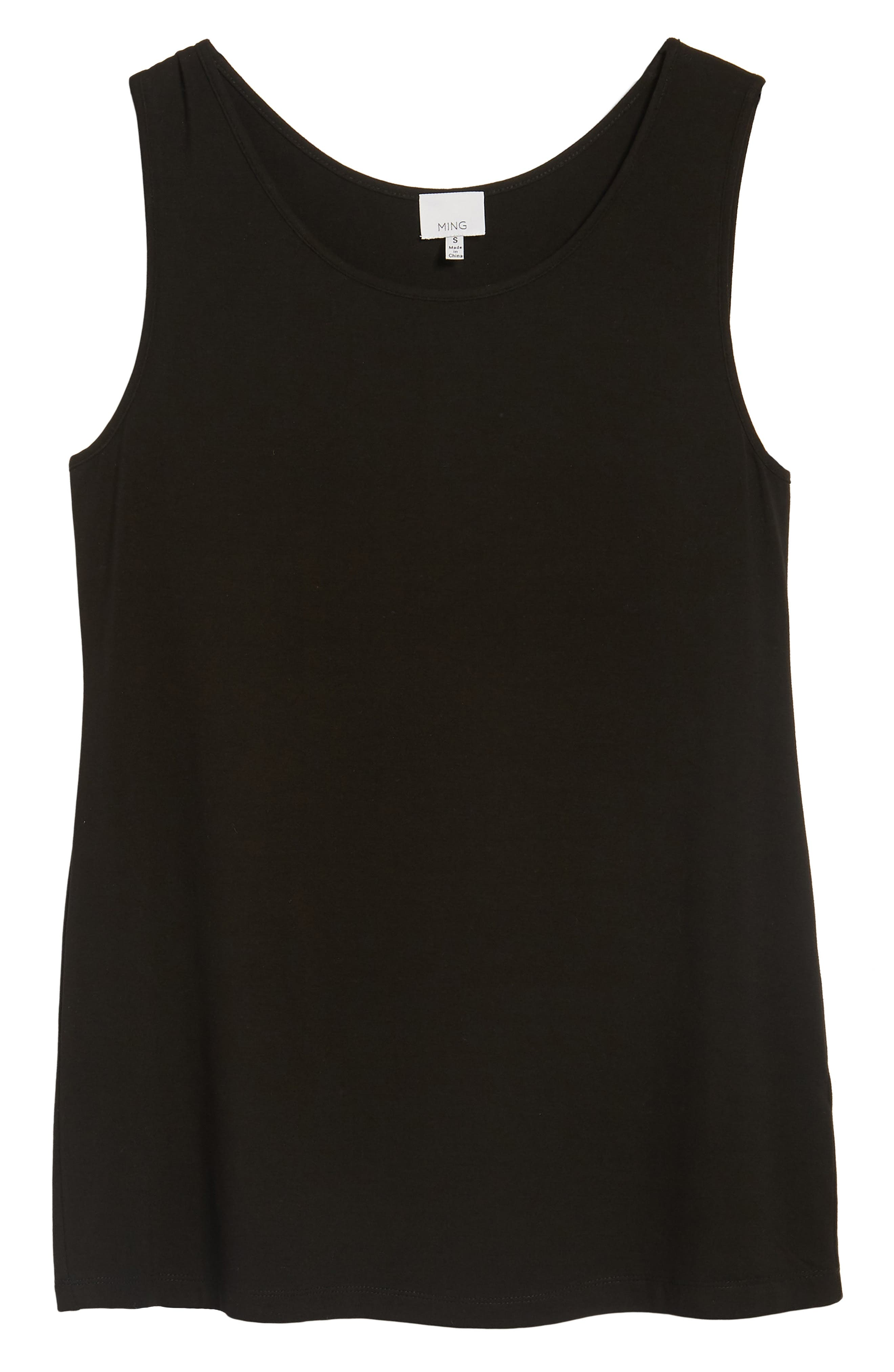 Mang Wang Jersey Tank,                             Alternate thumbnail 6, color,                             BLACK