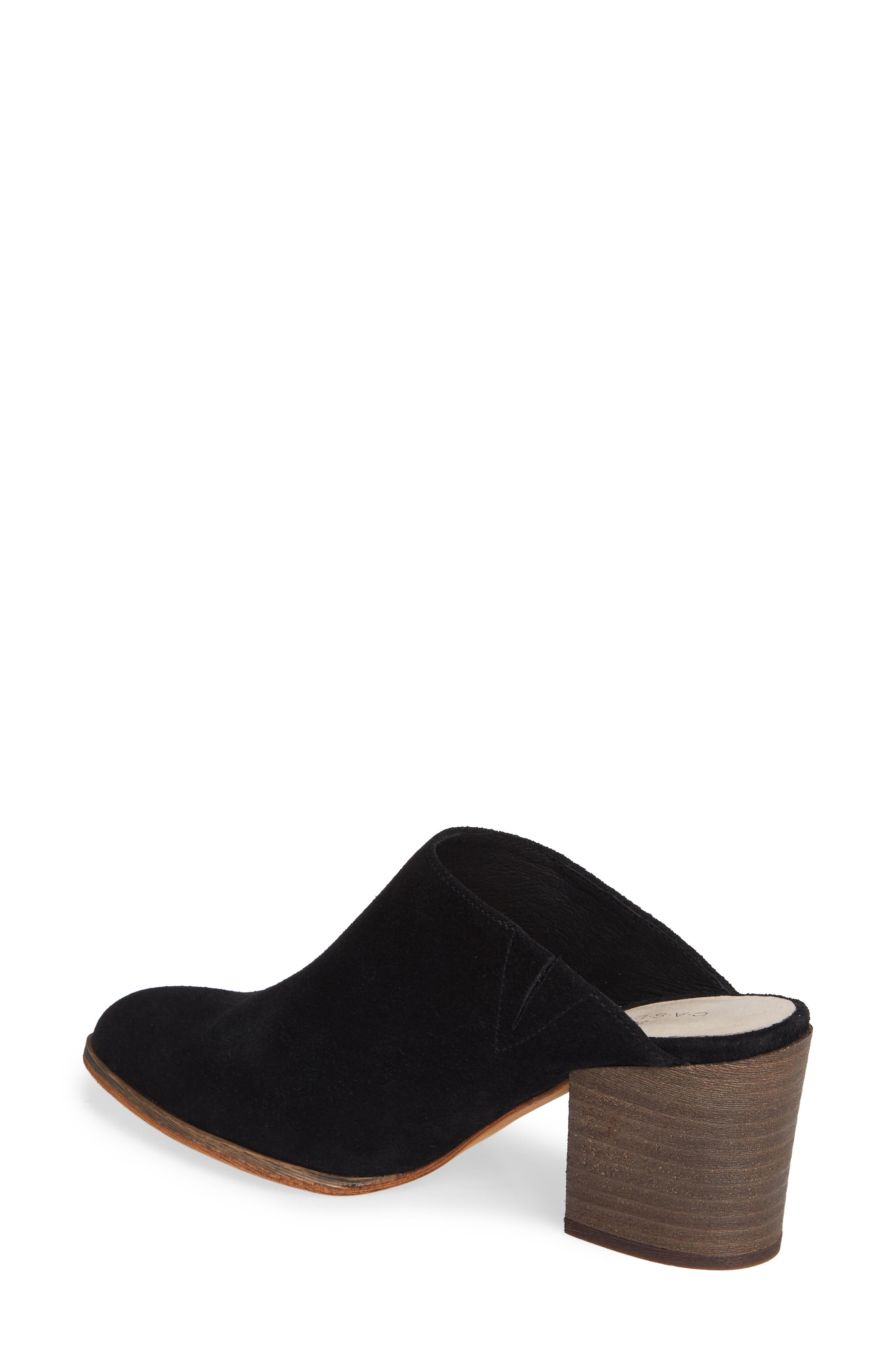 Miccah Mule,                             Alternate thumbnail 2, color,                             BLACK SUEDE