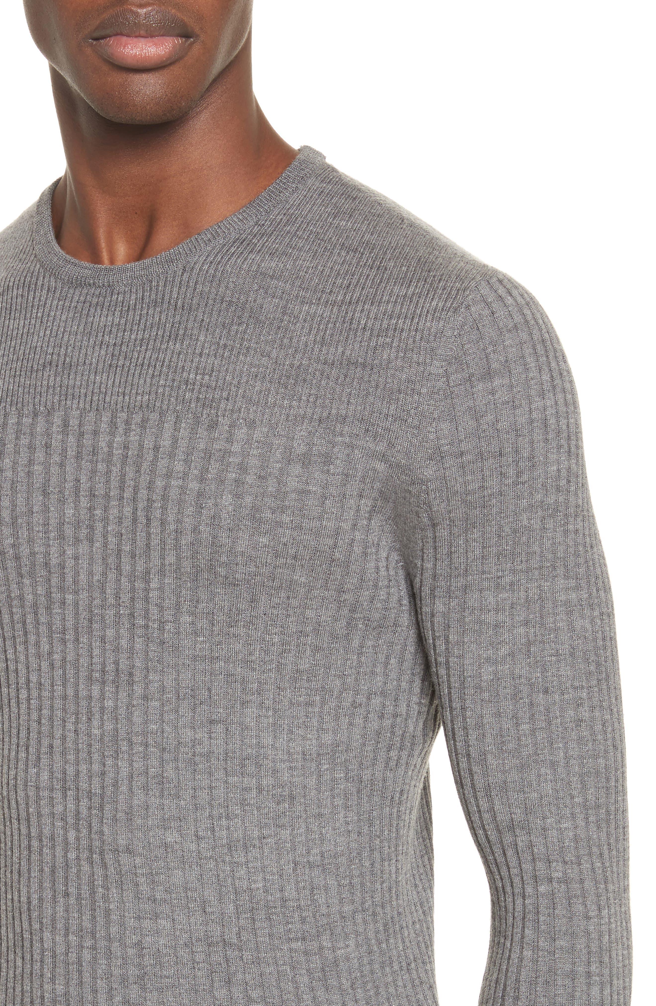 Merino Wool Sweater,                             Alternate thumbnail 4, color,                             030